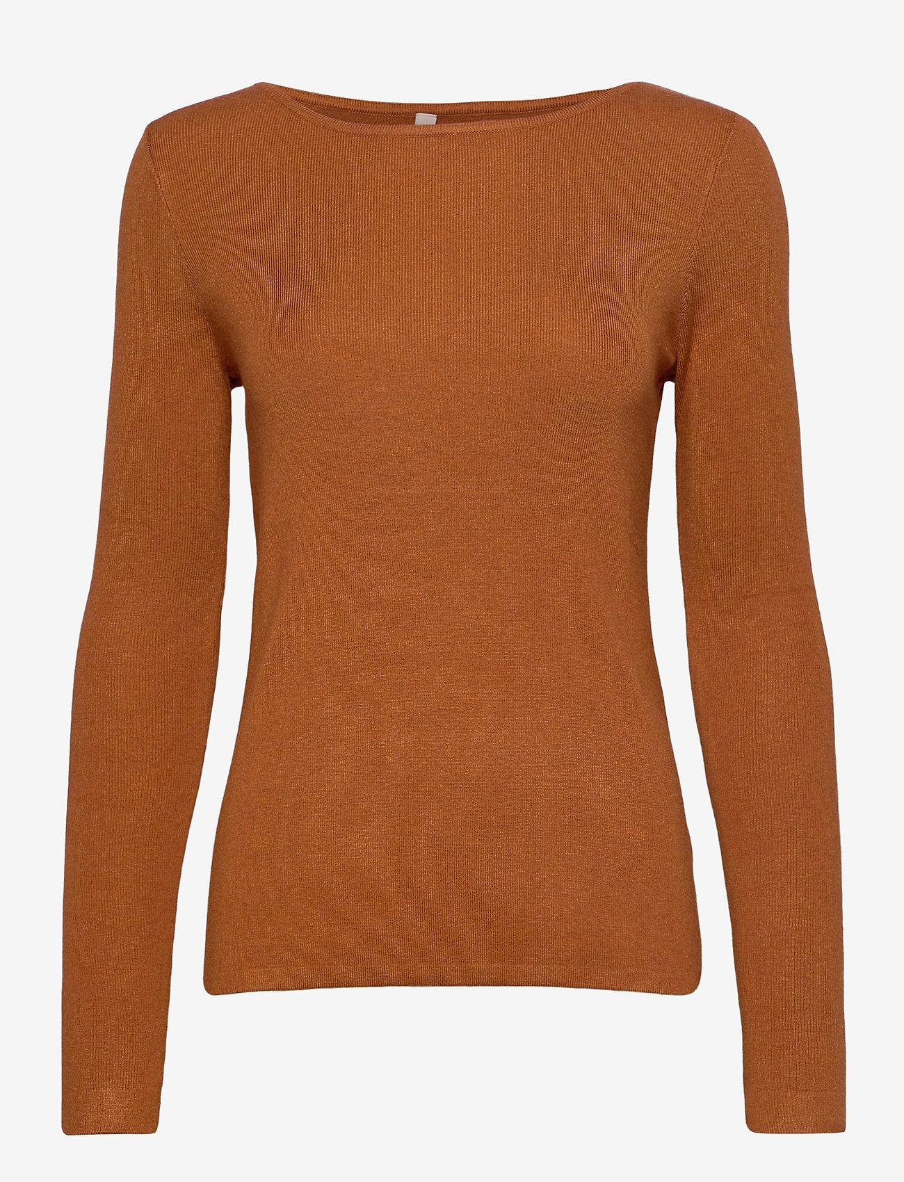 Pulz Jeans - PZSARA Pullover - trøjer - sugar almond melange - 0