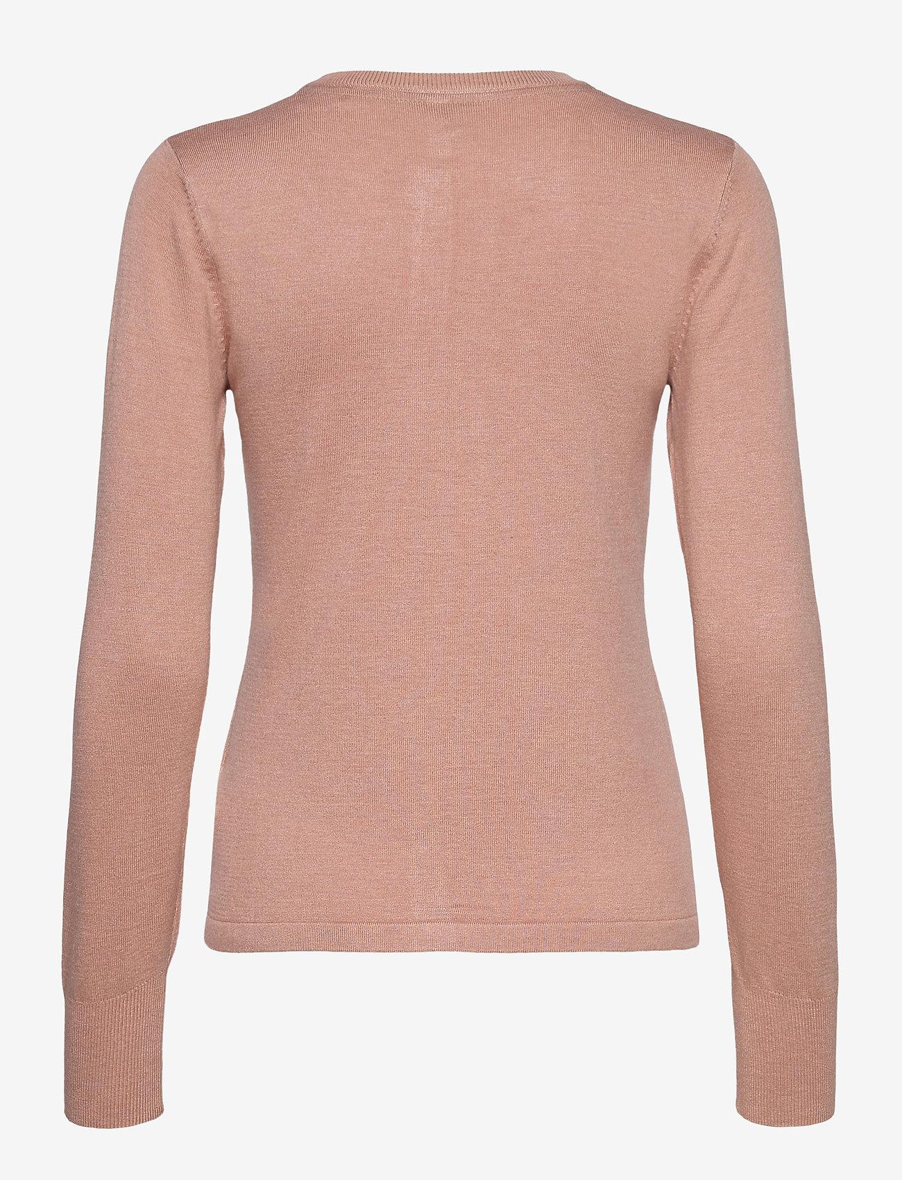 Pulz Jeans - PZSARA Cardigan - cardigans - mahogany rose melange - 1