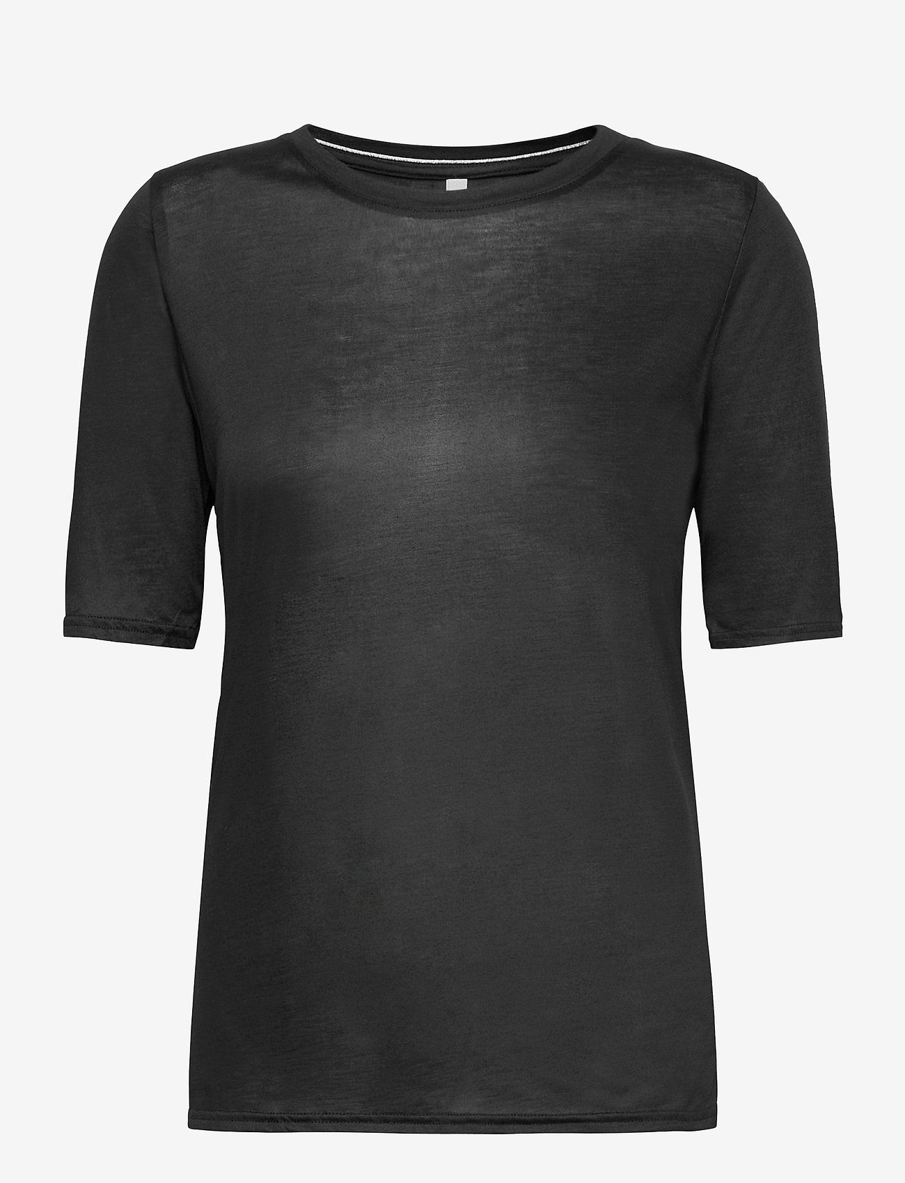 Pulz Jeans - PZCARLA t-shirt - t-shirts - black beauty - 0
