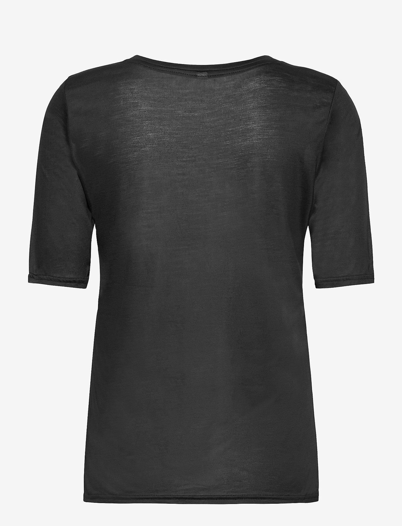 Pulz Jeans - PZCARLA t-shirt - t-shirts - black beauty - 1
