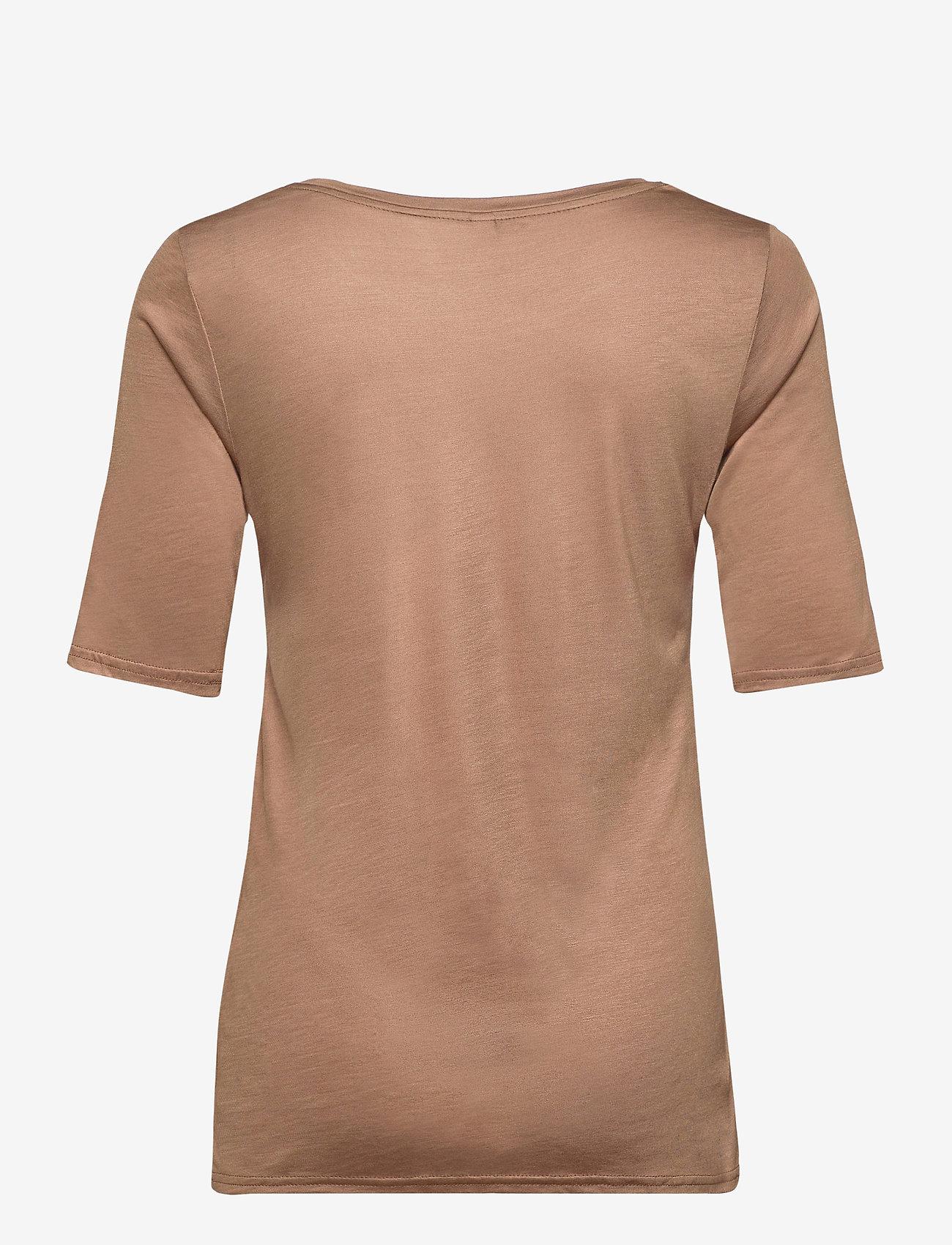Pulz Jeans - PZCARLA t-shirt - t-shirts - brownie - 1