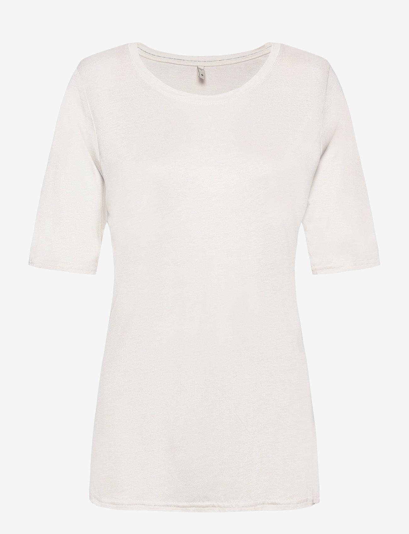 Pulz Jeans - PZCARLA t-shirt - t-shirts - white sand - 0