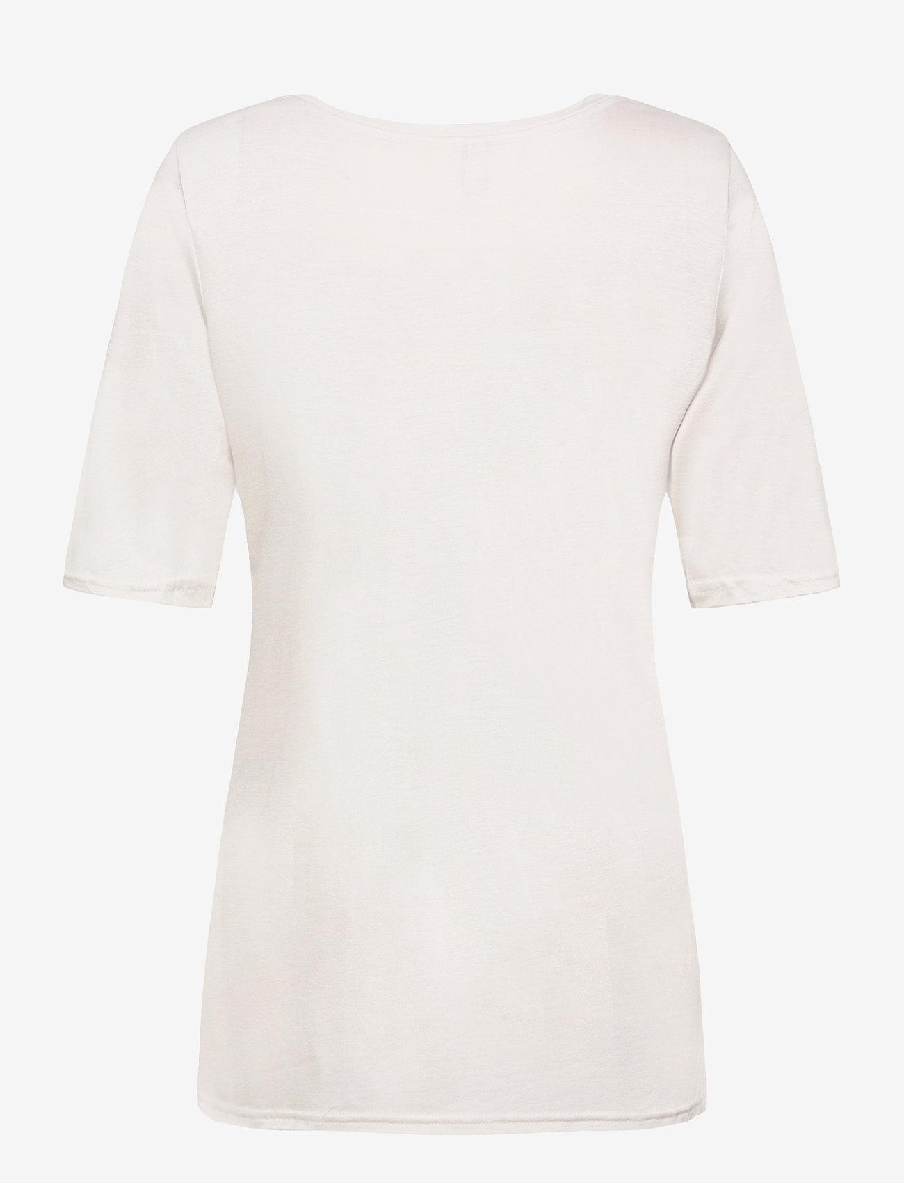 Pulz Jeans - PZCARLA t-shirt - t-shirts - white sand - 1