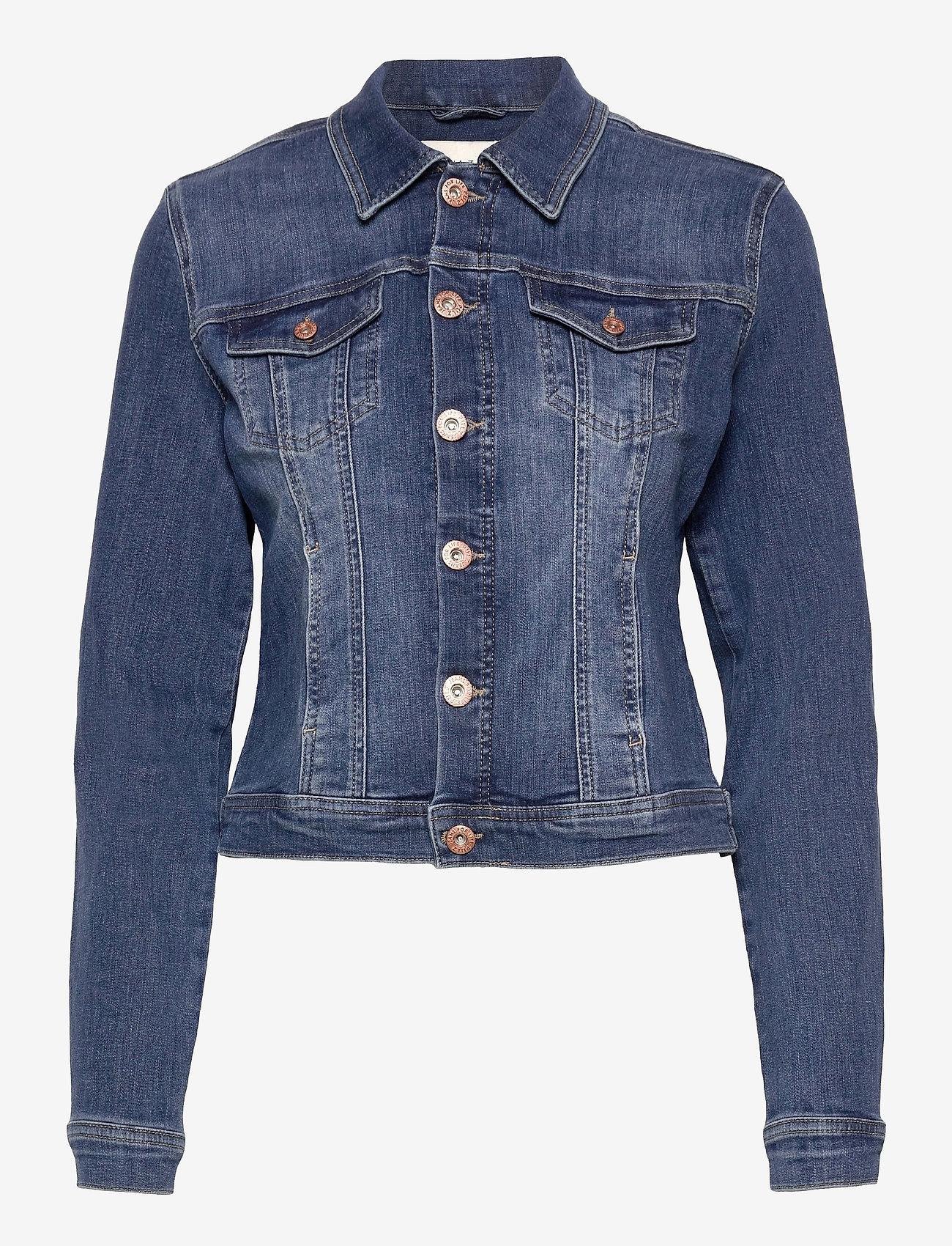 Pulz Jeans - PZSIRA Jacket - denimjakker - dark blue denim - 0