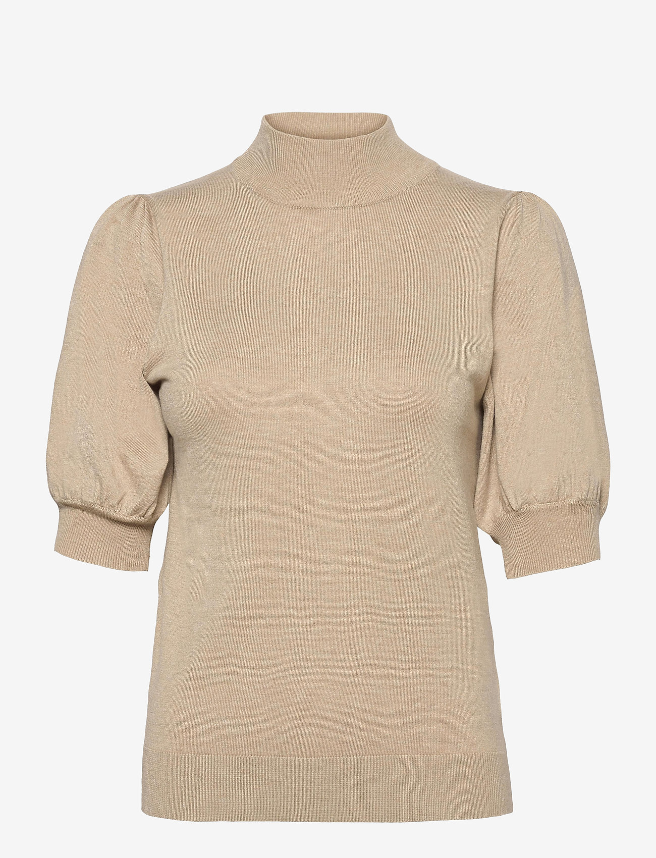 Pulz Jeans - PZSARA Pullover - gebreide t-shirts - irish cream melange - 0