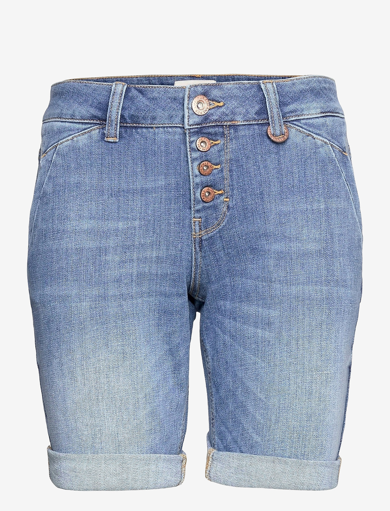 Pulz Jeans - PZMARY Shorts - denimshorts - light blue denim - 0