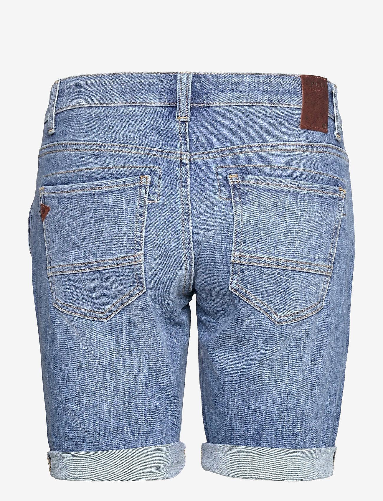 Pulz Jeans - PZMARY Shorts - denimshorts - light blue denim - 1