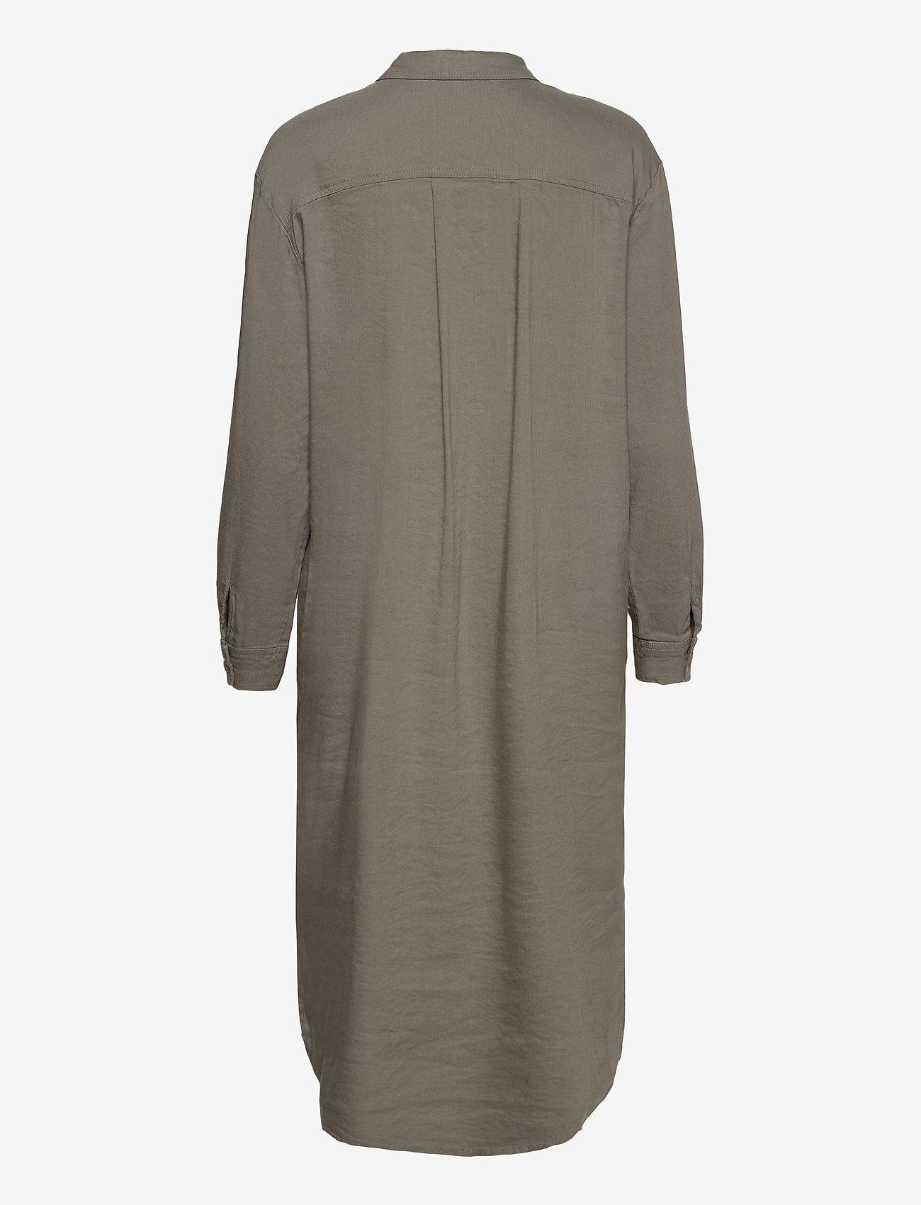 Pulz Jeans - PZLUCA Dress - hverdagskjoler - vetiver - 1