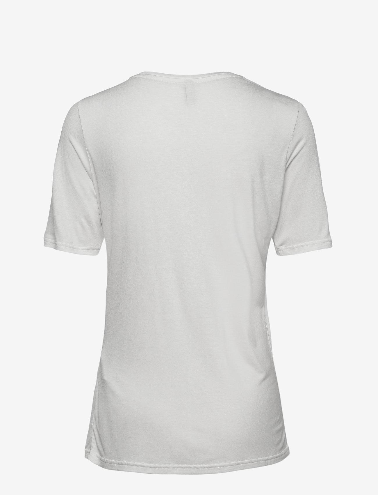 Pulz Jeans - PZCARLA T-shirt - t-shirts - cloud dancer - 1