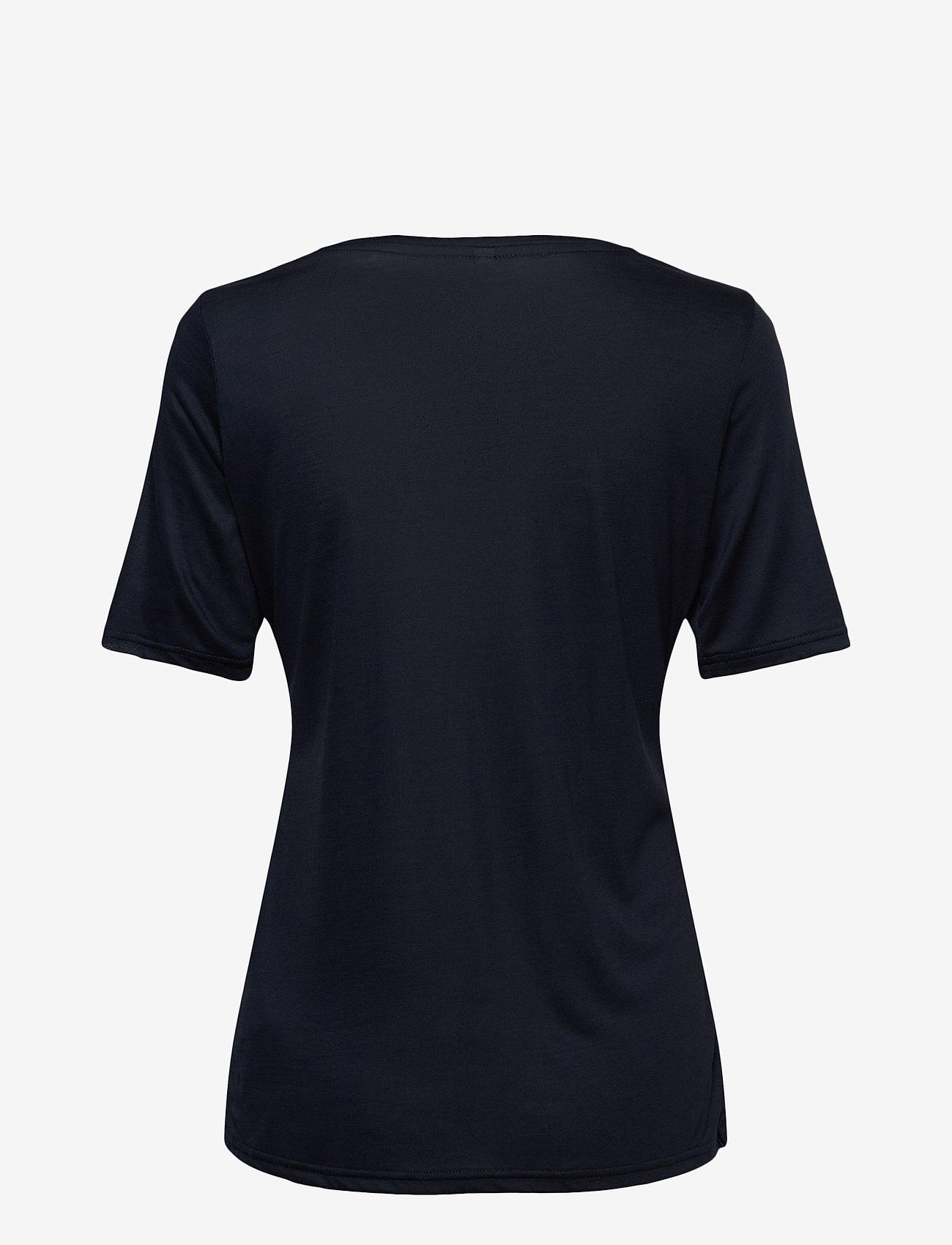 Pulz Jeans - PZCARLA T-shirt - t-shirts - dark sapphire - 1