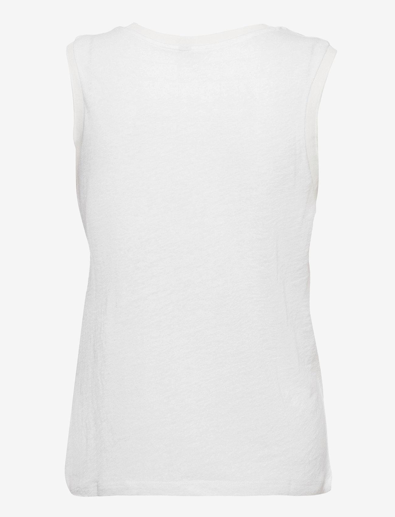 Pulz Jeans - PZAMALIE Top - Ærmeløse toppe - bright white - 1