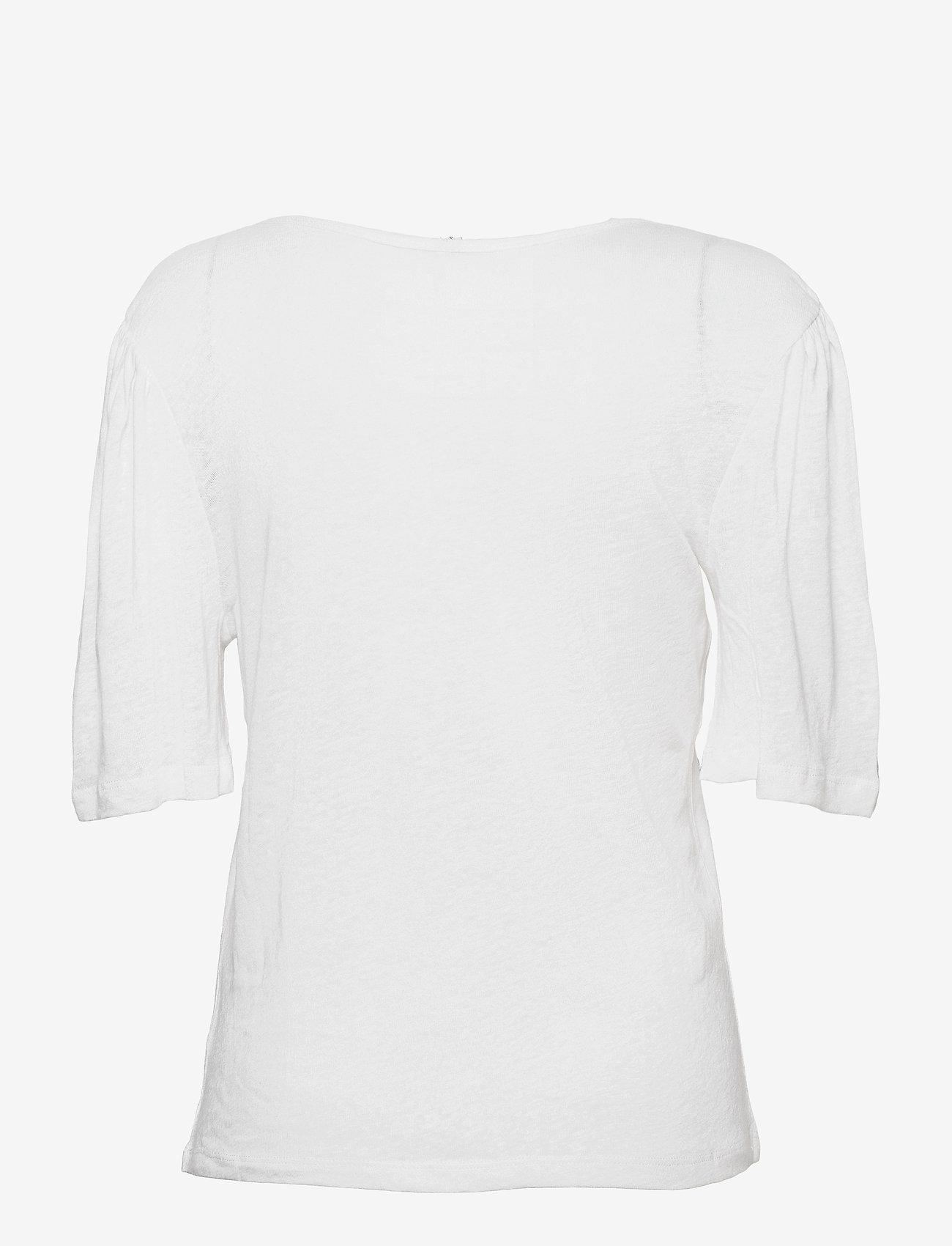 Pulz Jeans - PZAMALIE T-shirt - t-shirts - bright white - 1