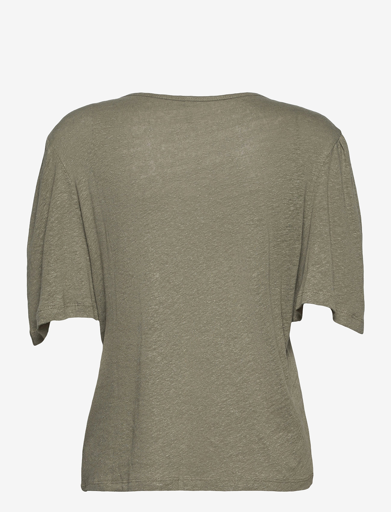 Pulz Jeans - PZAMALIE T-shirt - t-shirts - vetiver - 1