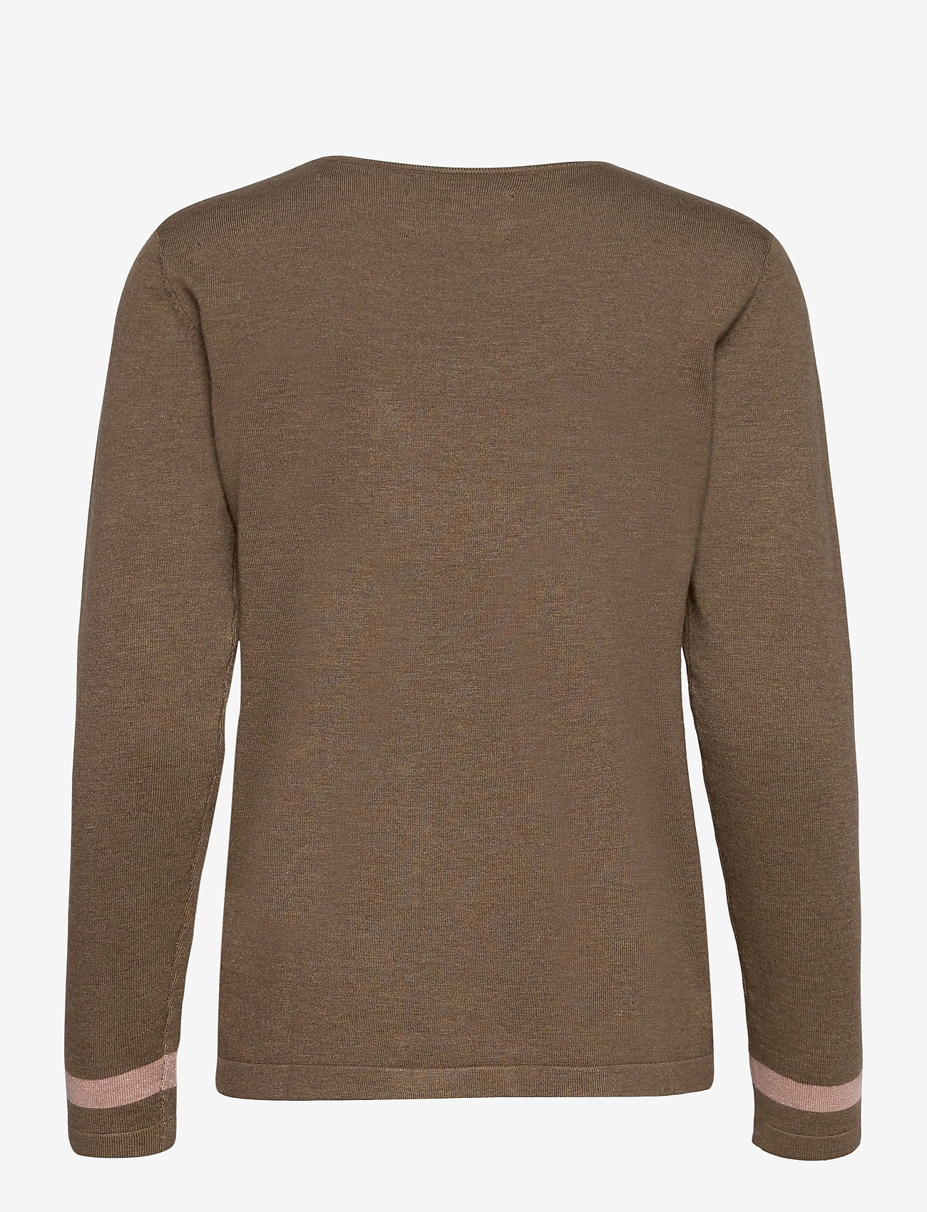Pulz Jeans - PZSARA Pullover - trøjer - crocodile melange - 1