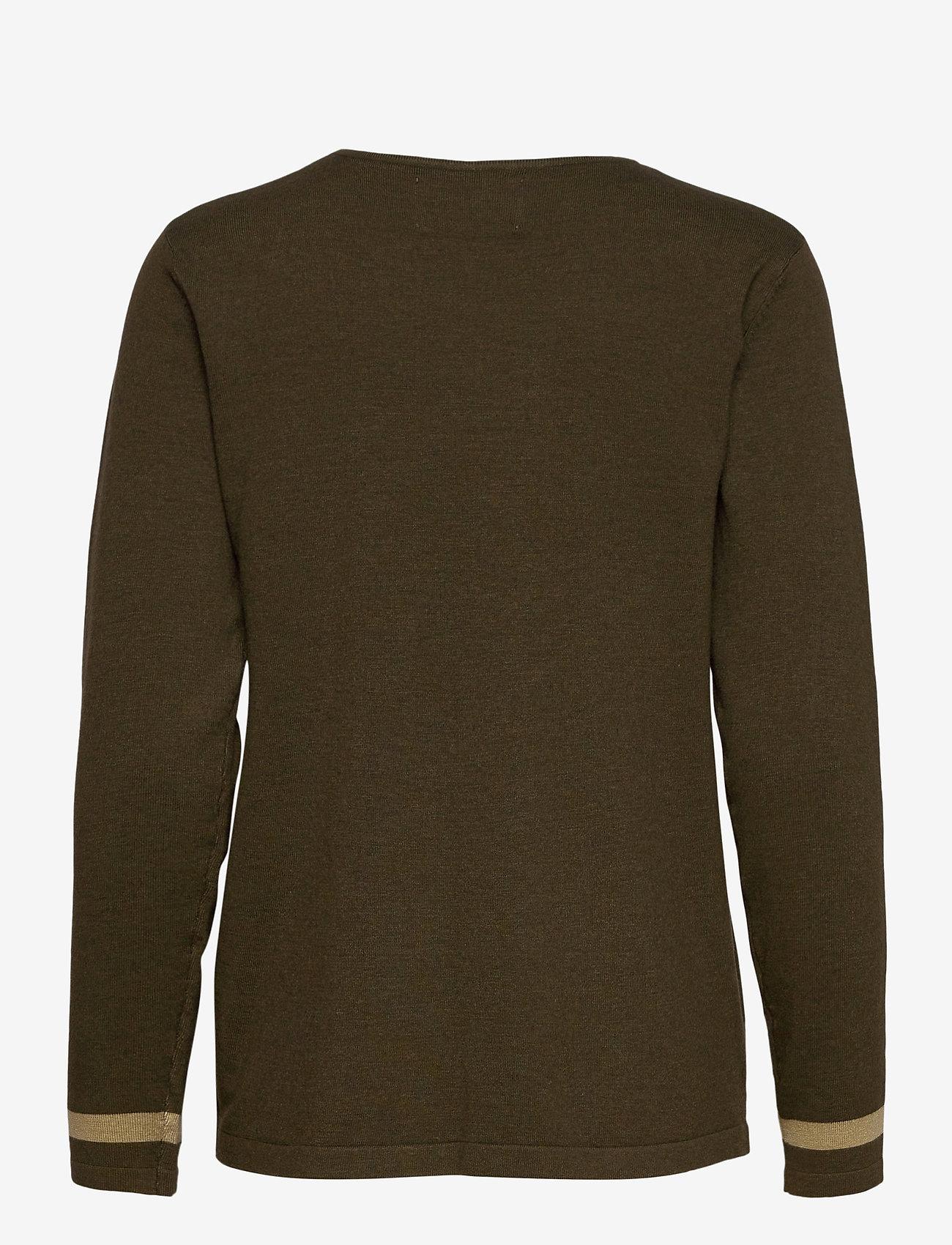 Pulz Jeans - PZSARA Pullover - trøjer - wren melange - 1
