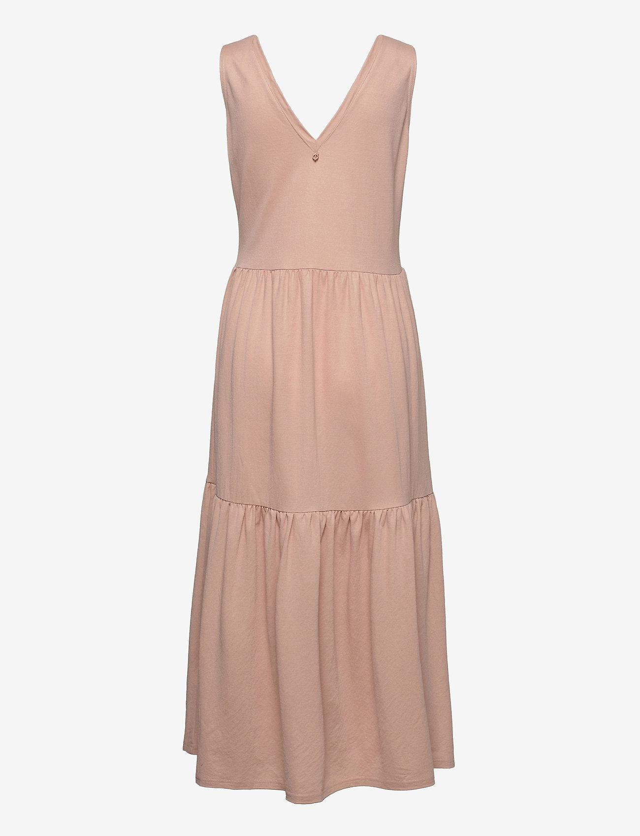 Pulz Jeans - PZAMELIA Dress Long MIX&MATCH - sommerkjoler - mahogany rose - 1