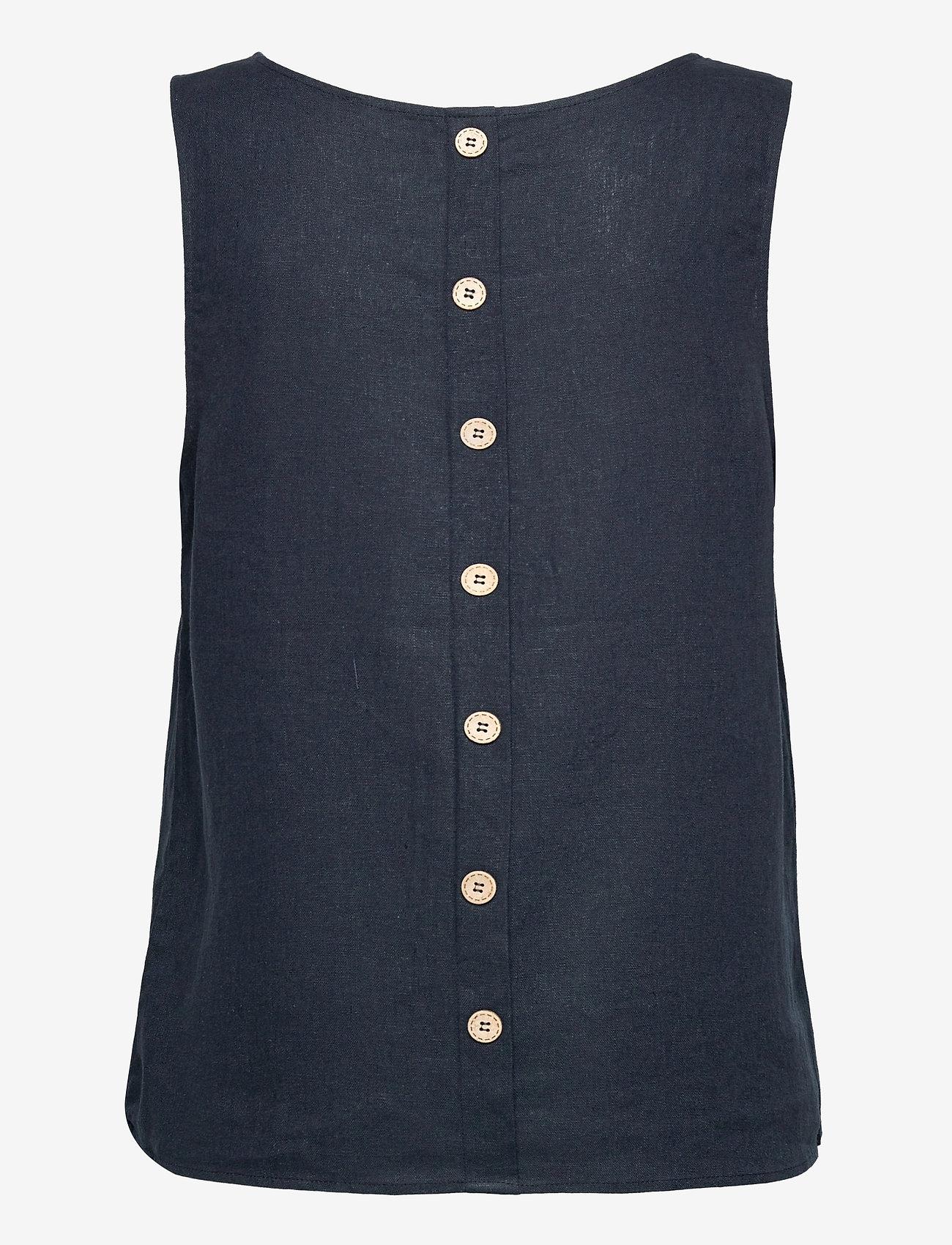 Pulz Jeans - PZBIANCA Top - Ærmeløse bluser - dark sapphire - 1