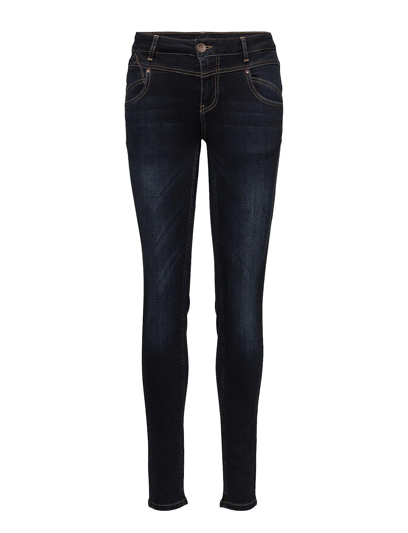 Pulz Jeans Carmen Highwaist Skinny - DARK BLUE