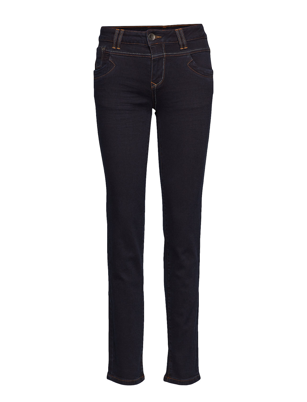 Pulz Jeans Tenna Highwaist Straight - RAW BLUE DENIM