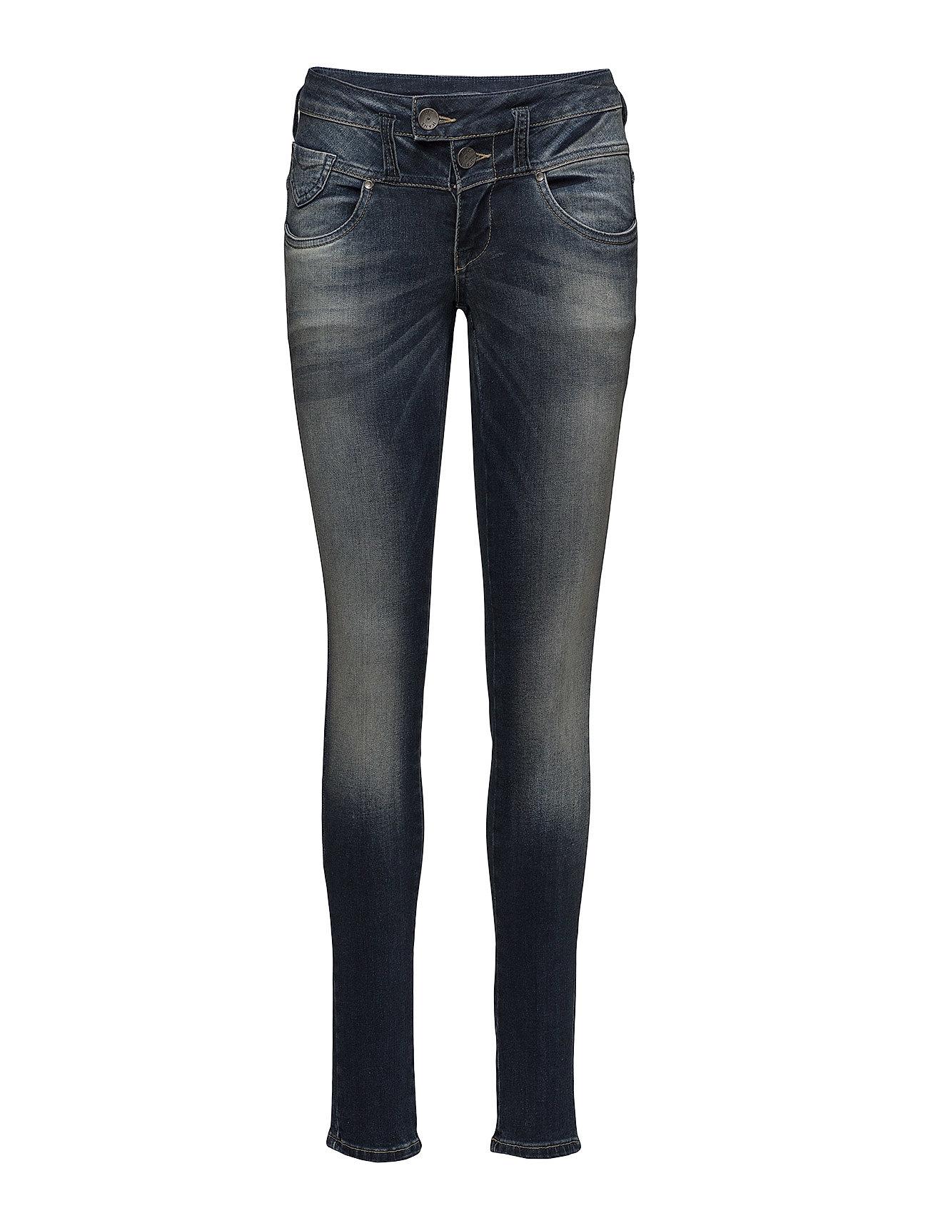 Pulz Jeans Anett Midwaist Skinny - DARK BLUE