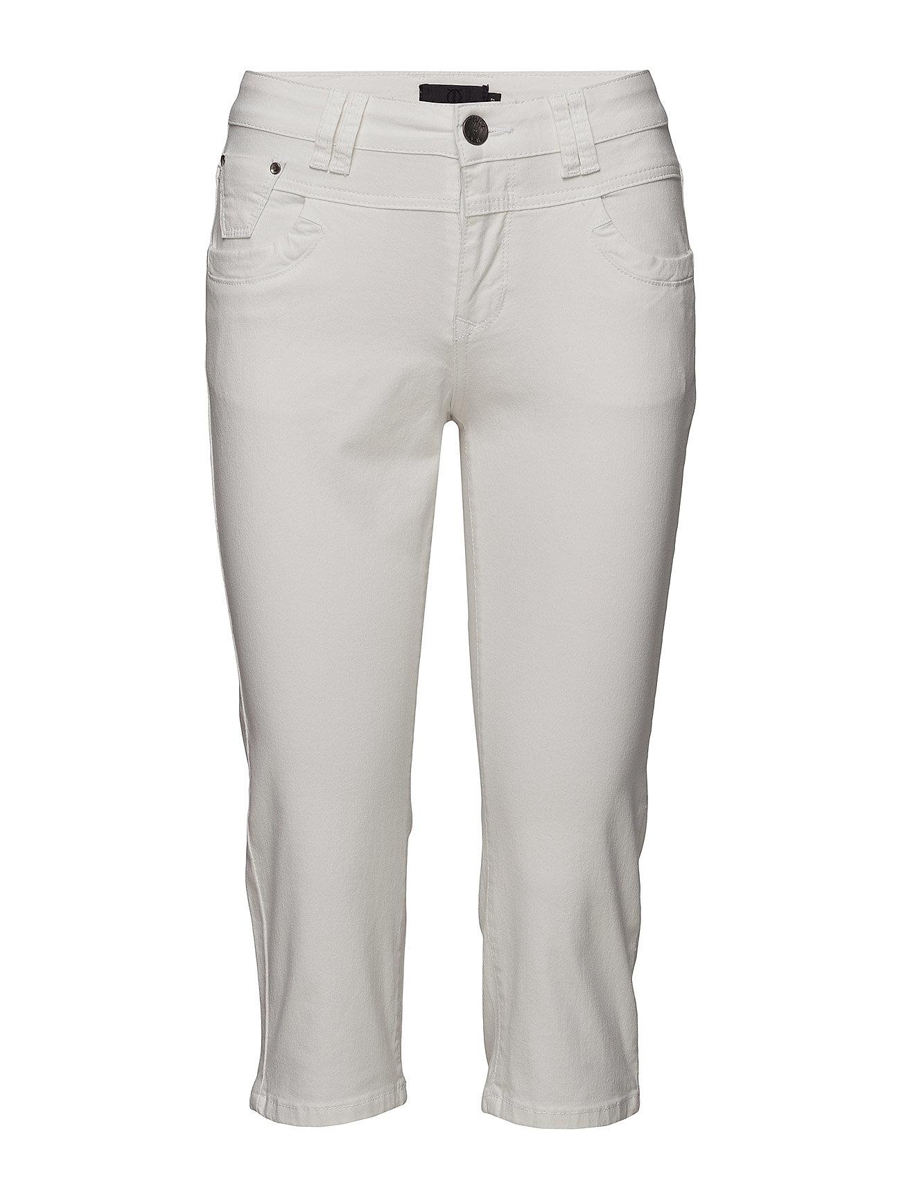 89b29b3fbf7 Tenna Highwaist Capri (White) (67.50 €) - Pulz Jeans - Jeans | Boozt.com