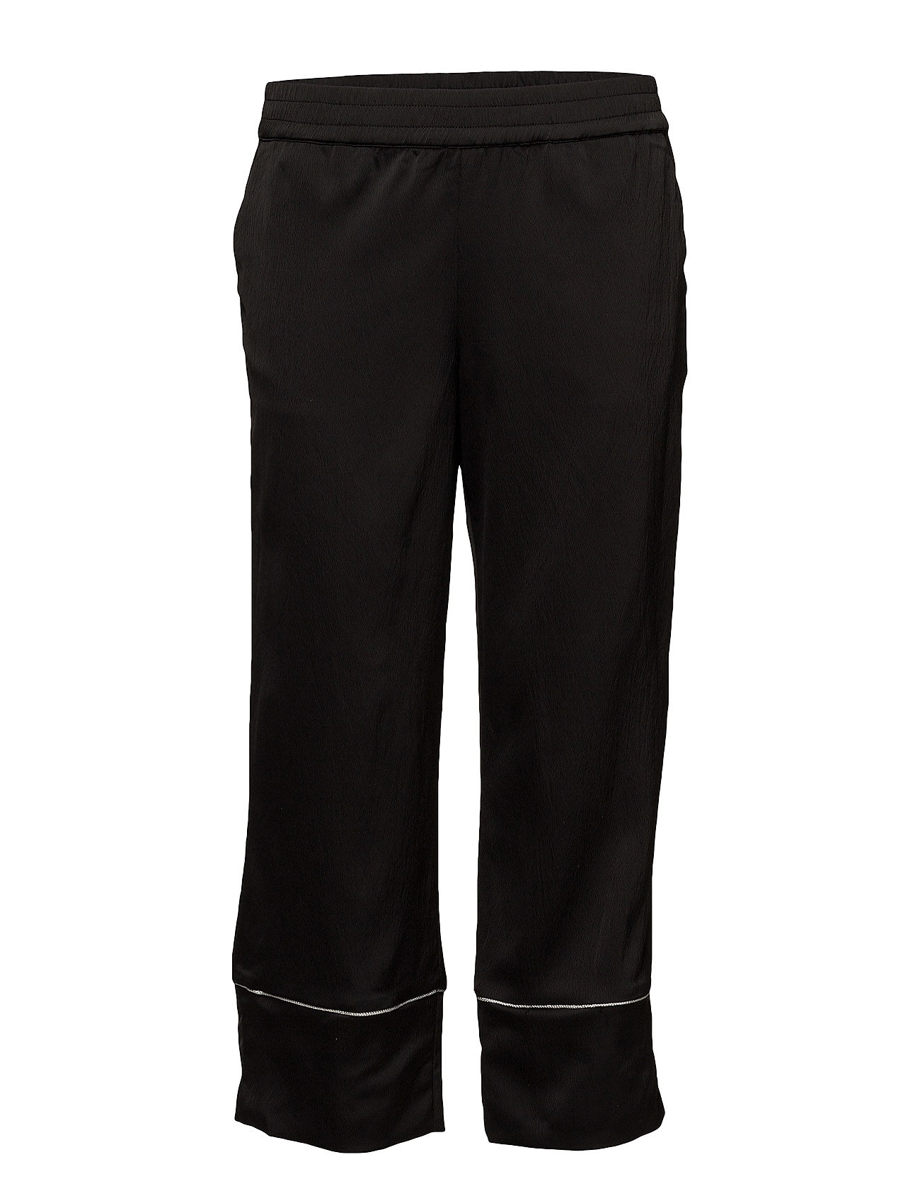 Pulz Jeans Gloria Pant Ankle length - BLACK