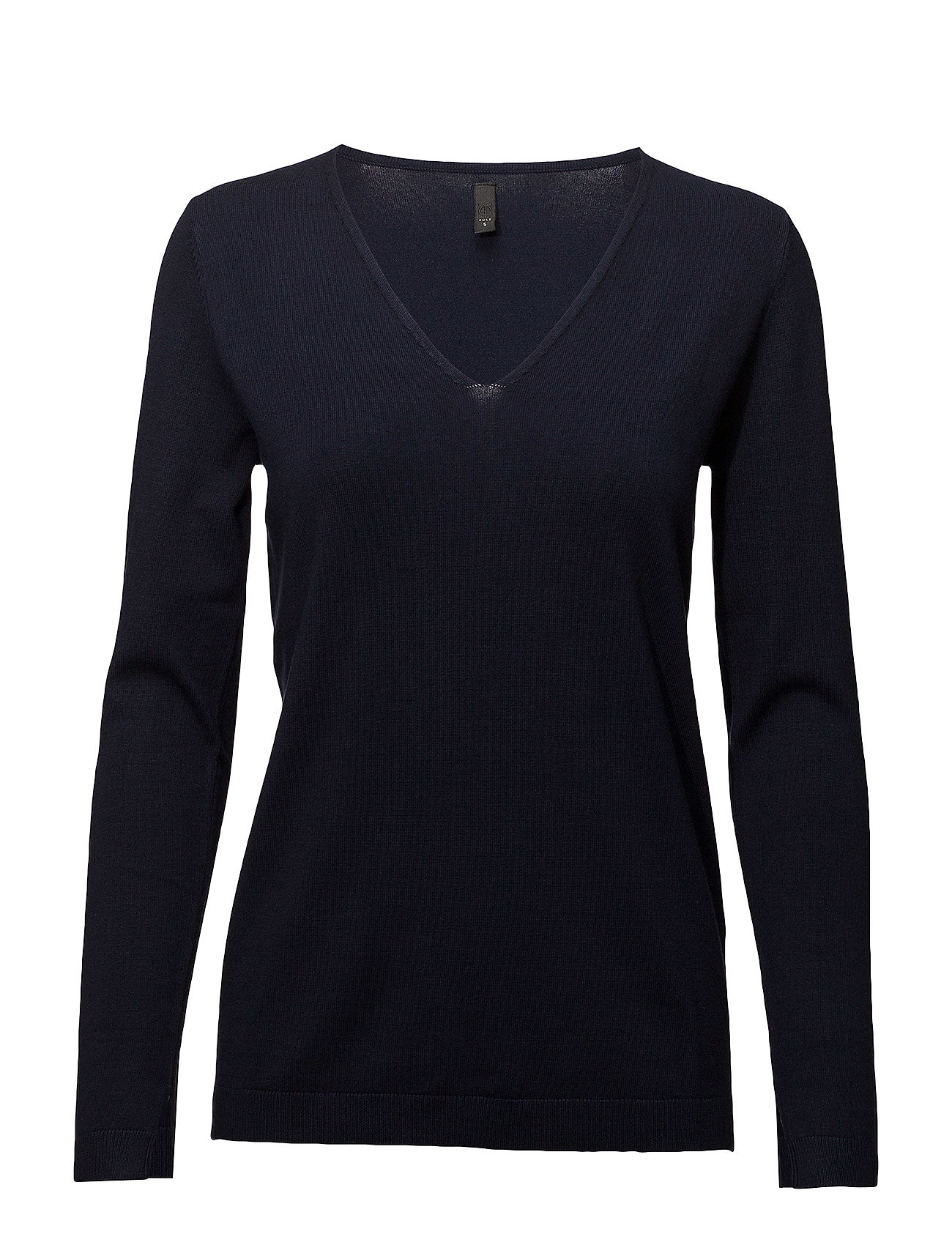 Sara LS Pullover Langærmet T shirt Blå PULZ JEANS