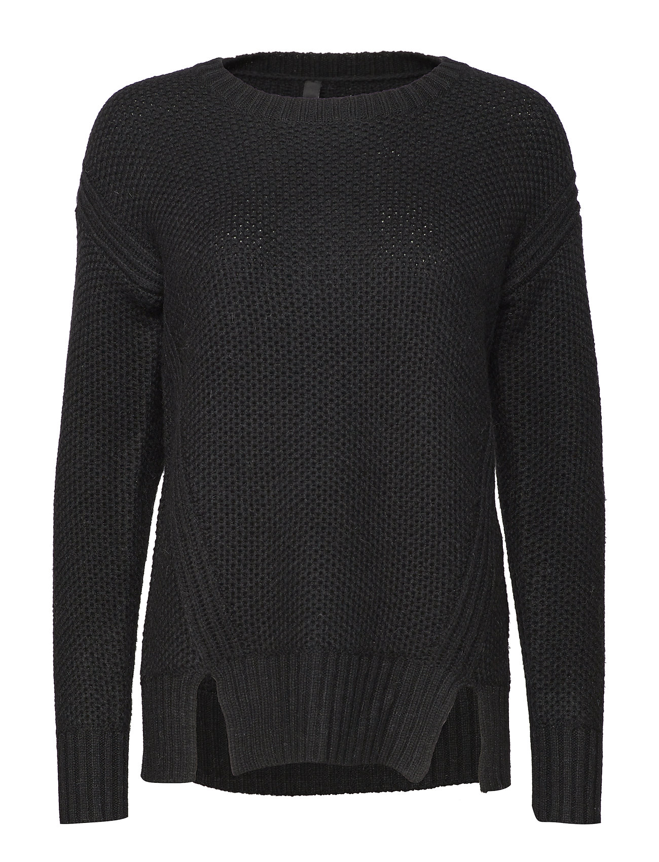 Pulz Jeans Disa L/S Pullover - BLACK