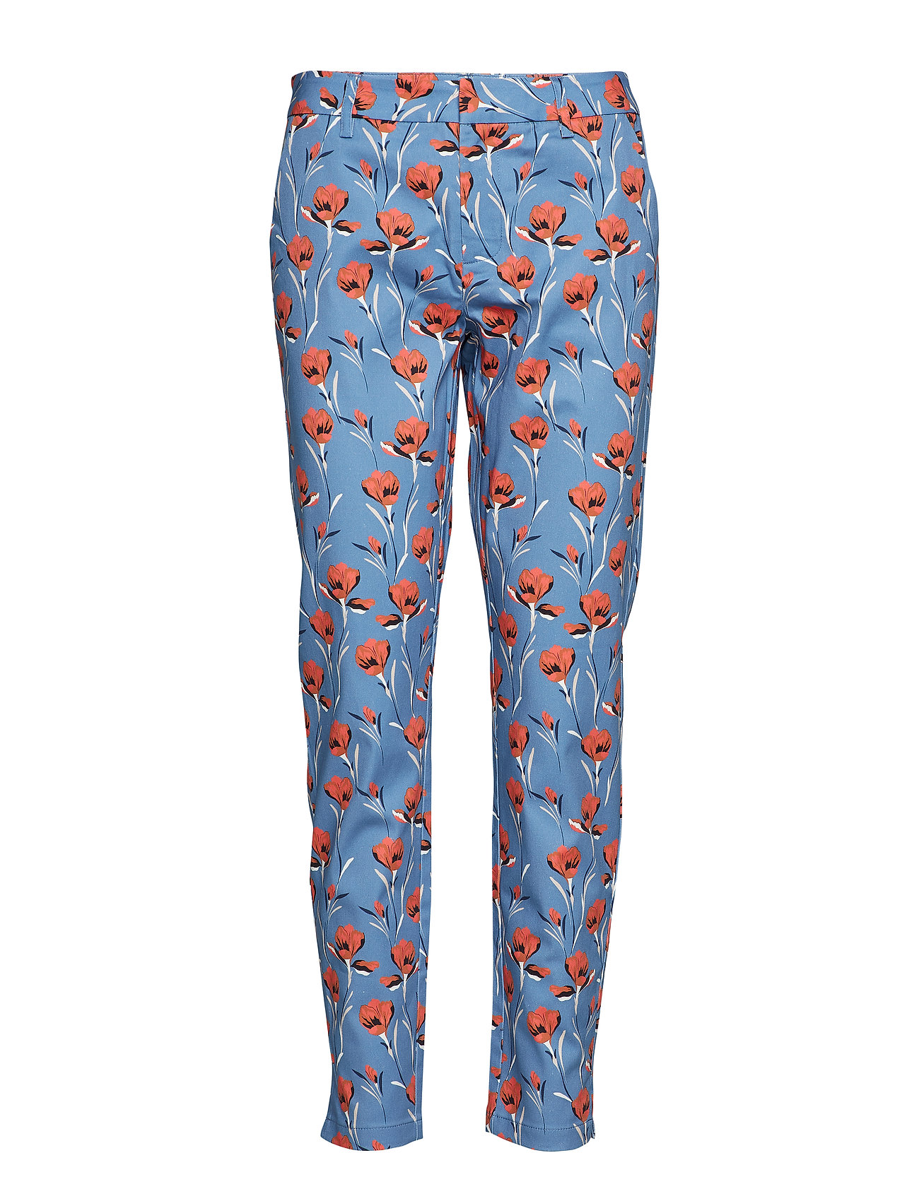 Pulz Jeans Lucky Pant - STEEL BLUE