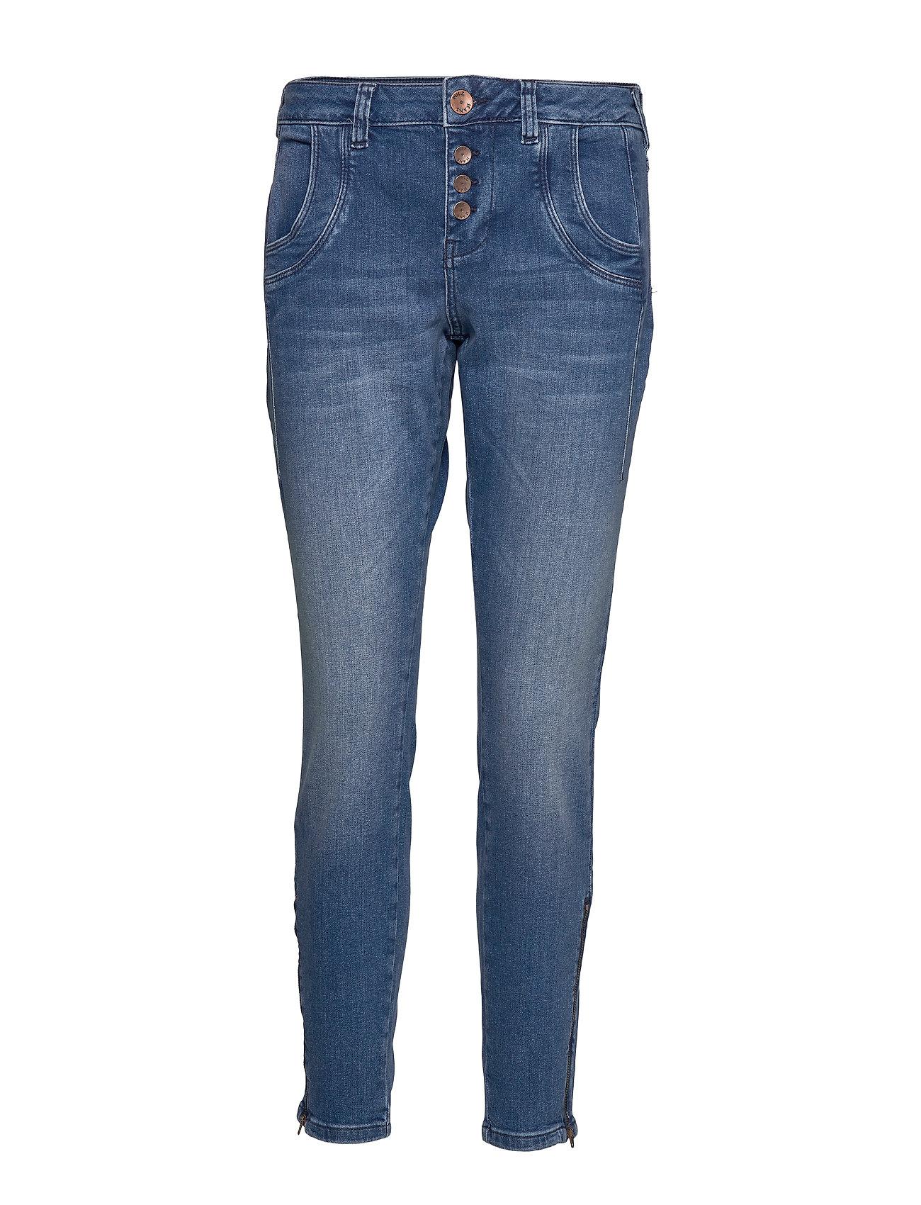 Pulz Jeans Melina Loose jeans - LIGHT BLUE DENIM