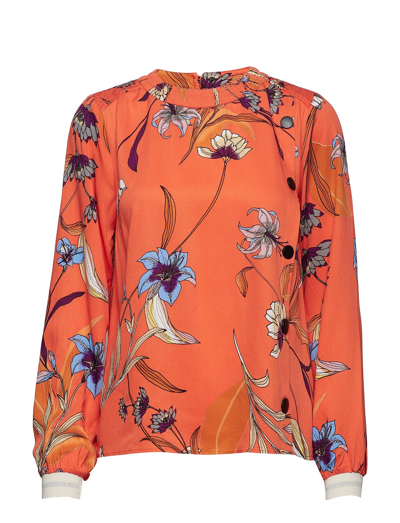 Pzsigne s Shirt Aopvermillion Jeans L OrangePulz hQsCtrdx