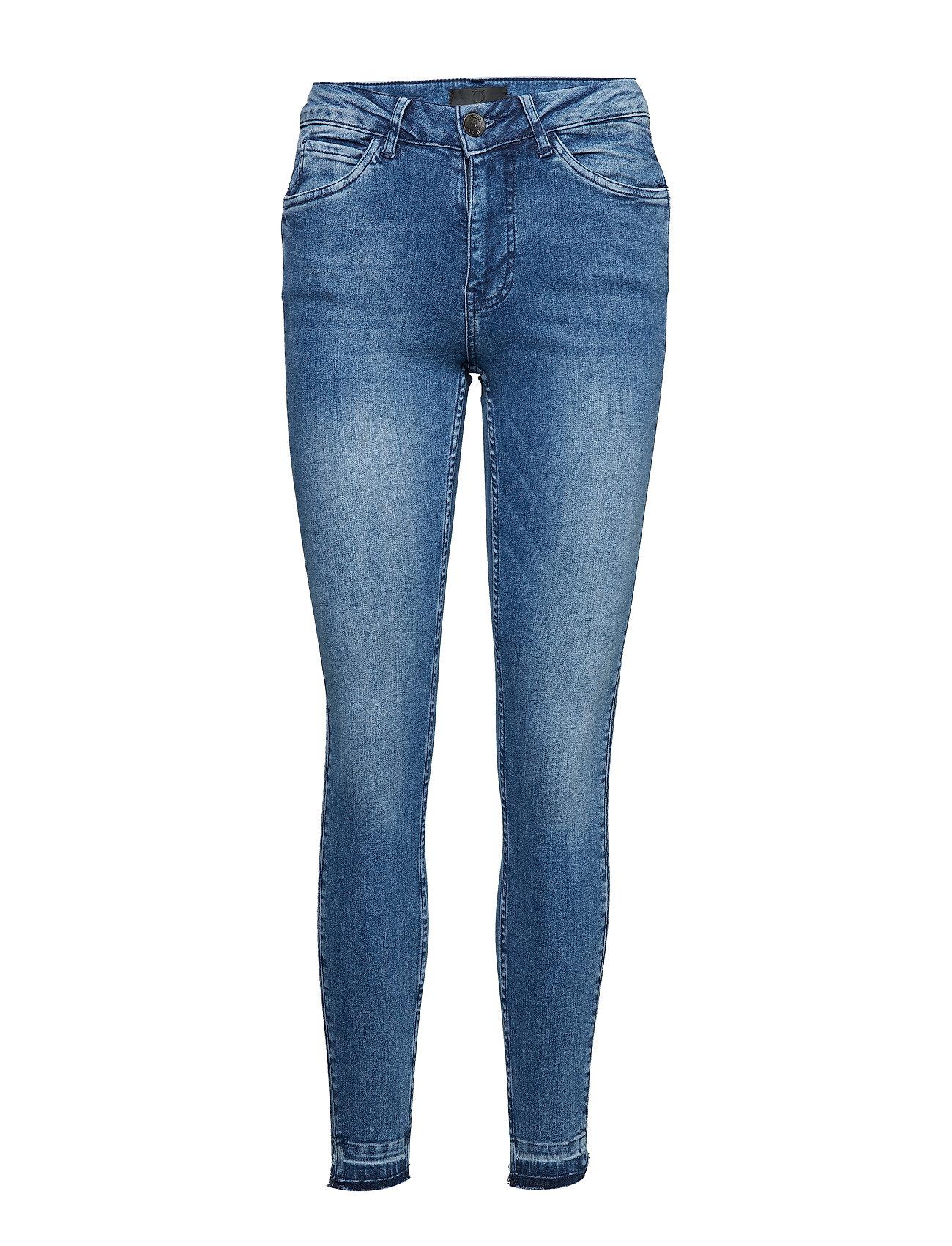 Pulz Jeans PzMiranda Highwaist Skinny - MEDIUM BLUE DENIM
