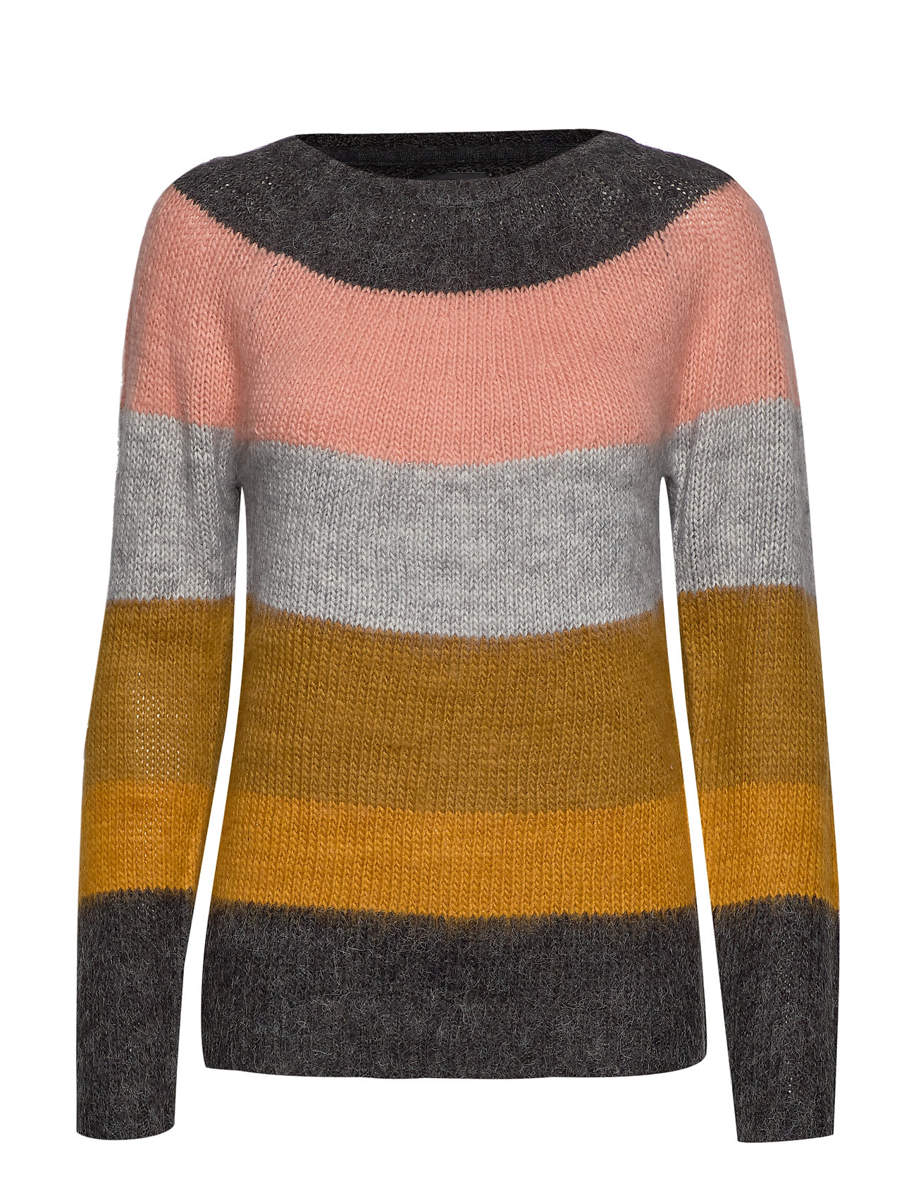 Pulz Jeans PZGISELLE Striped Pullover - TAPENADE