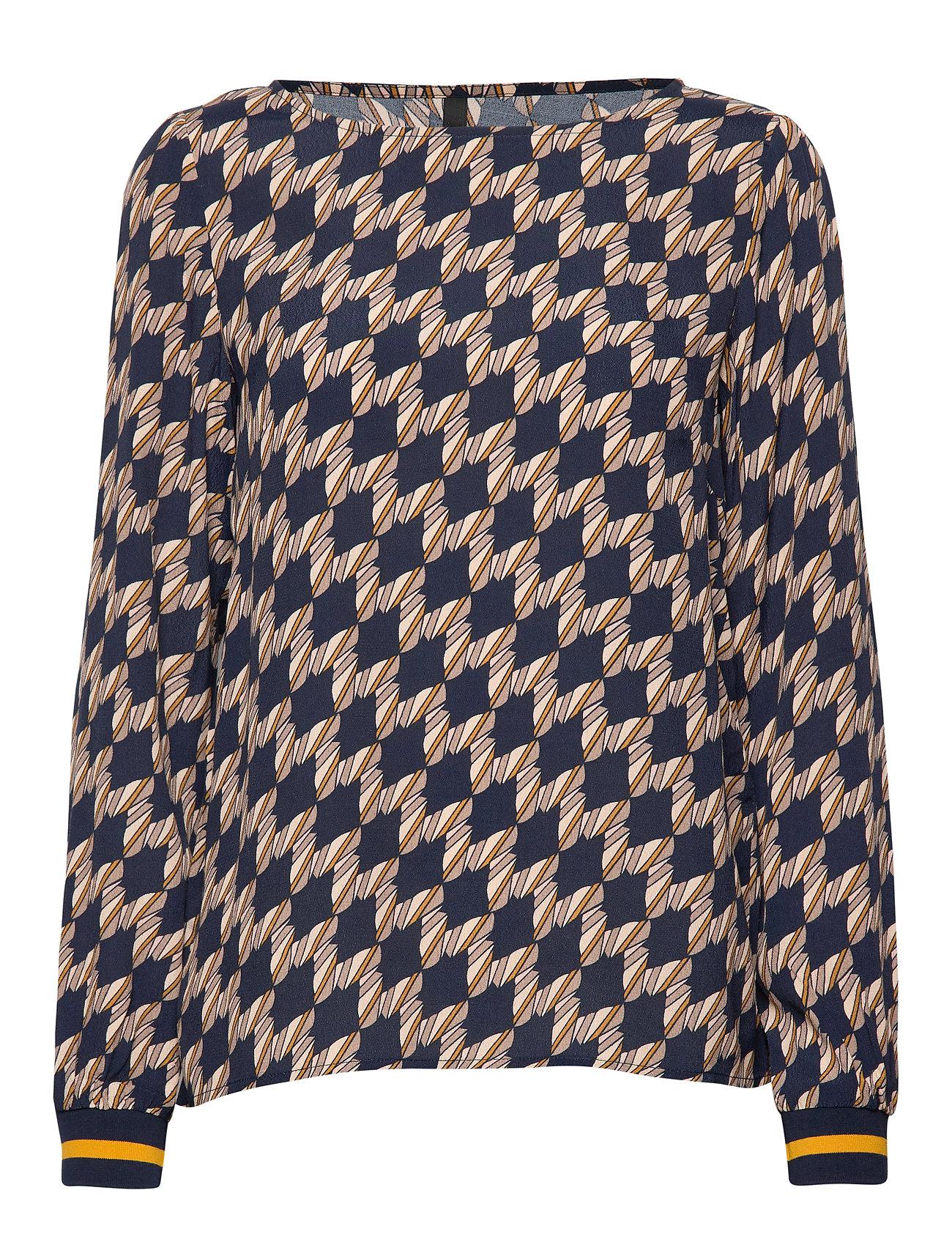 Pulz Jeans PZGENEVIEVE L/S Blouse - BLUE MARINE