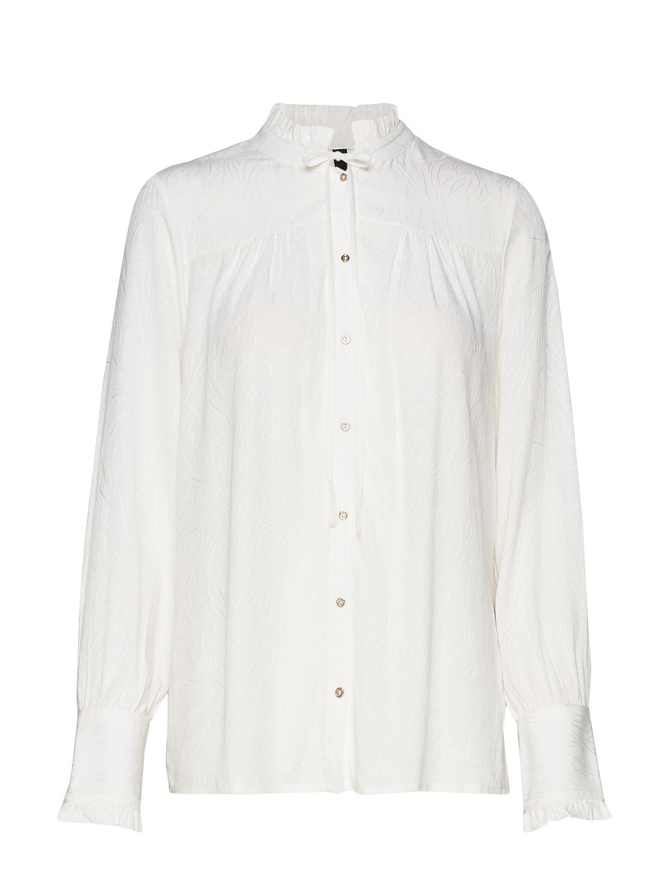 Pulz Jeans PZPHILLIPINE L/S Shirt - SOFT CREAM