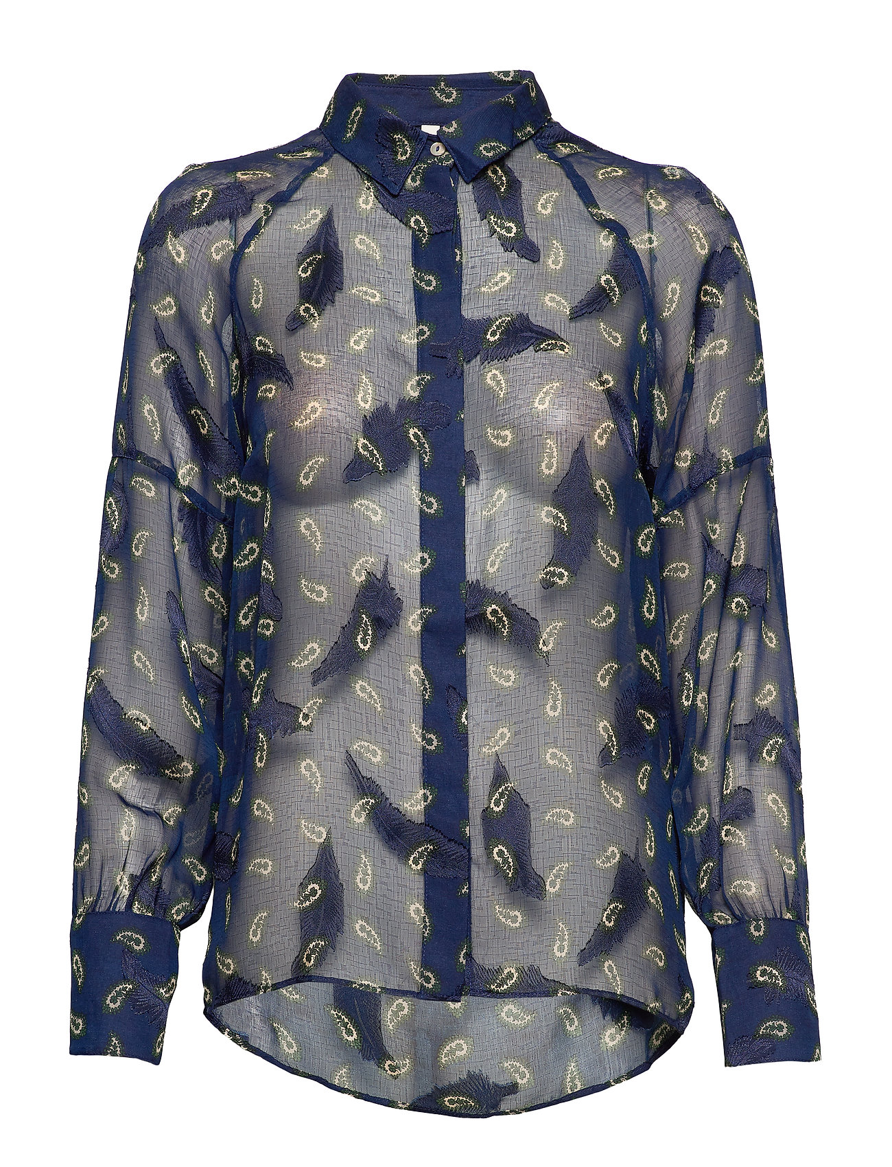Pulz Jeans PZGERTRUD Shirt - BLUE MARINE