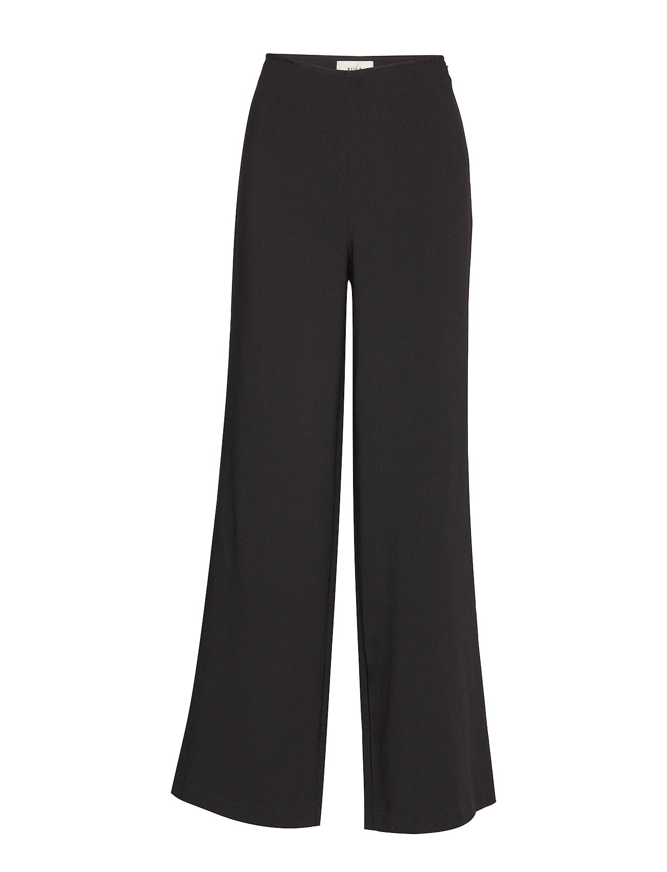 Pulz Jeans PZPEAR Ultra high flared Pants - BLACK