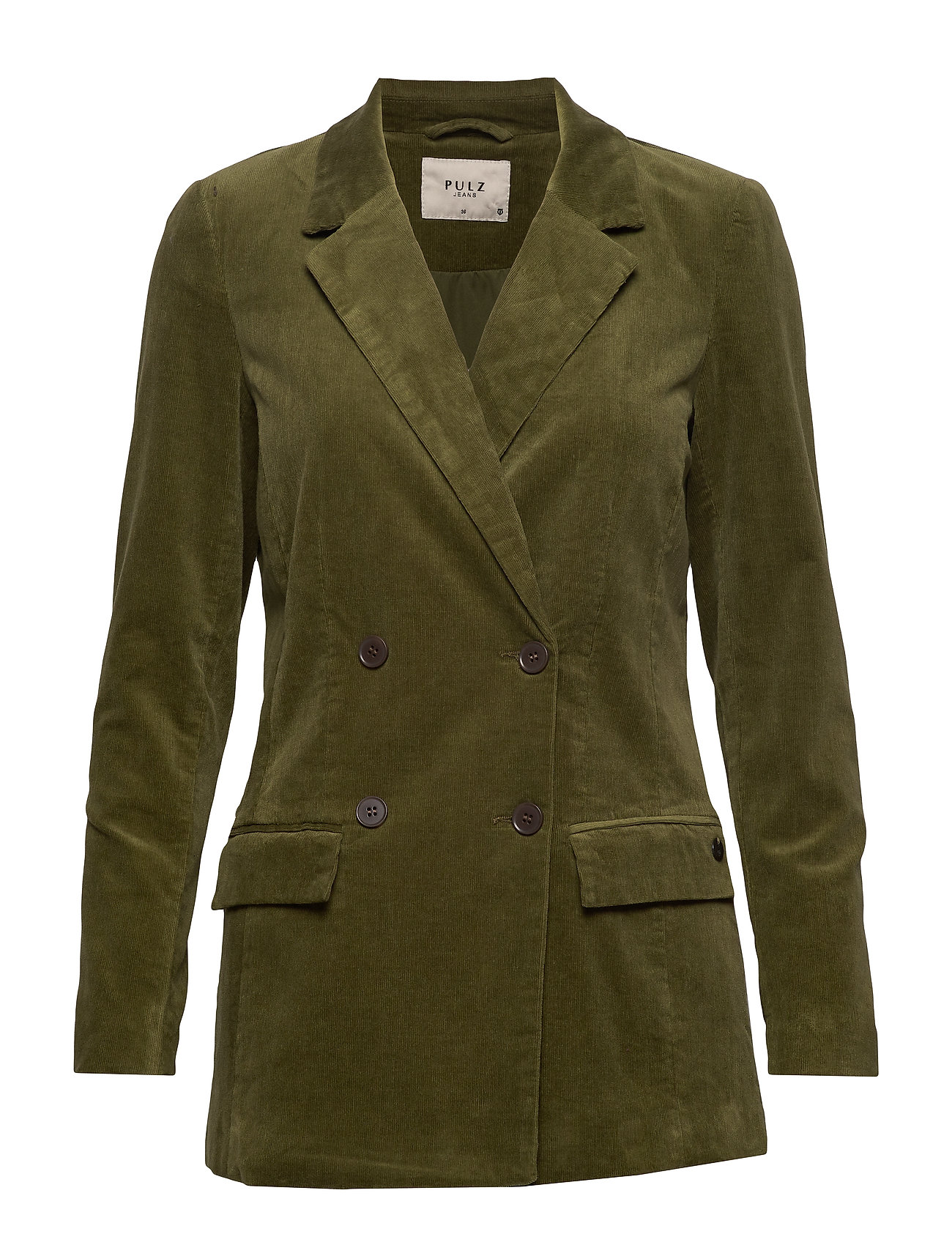 Pulz Jeans PZKELLY Blazer - CROCODILE GREEN