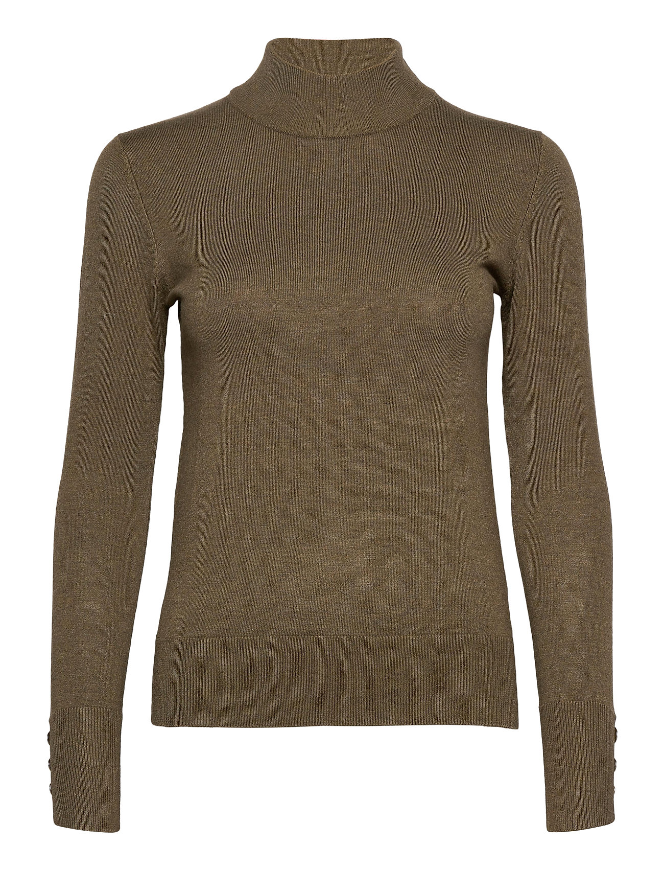 Image of Pzsara Turtleneck Turtleneck Rullekravetrøje Grøn Pulz Jeans (3435719869)
