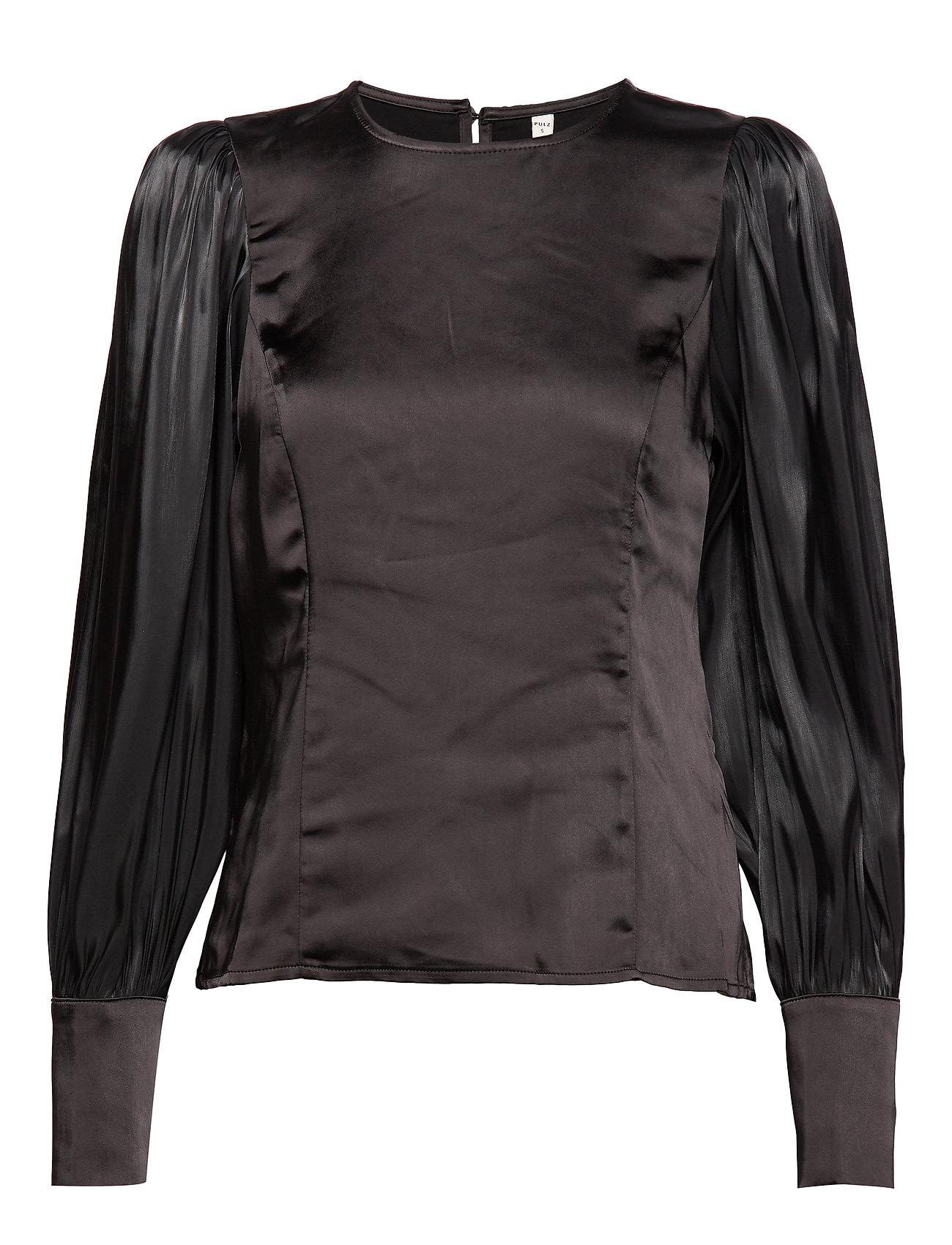 Pulz Jeans PZSILLE Blouse - BLACK