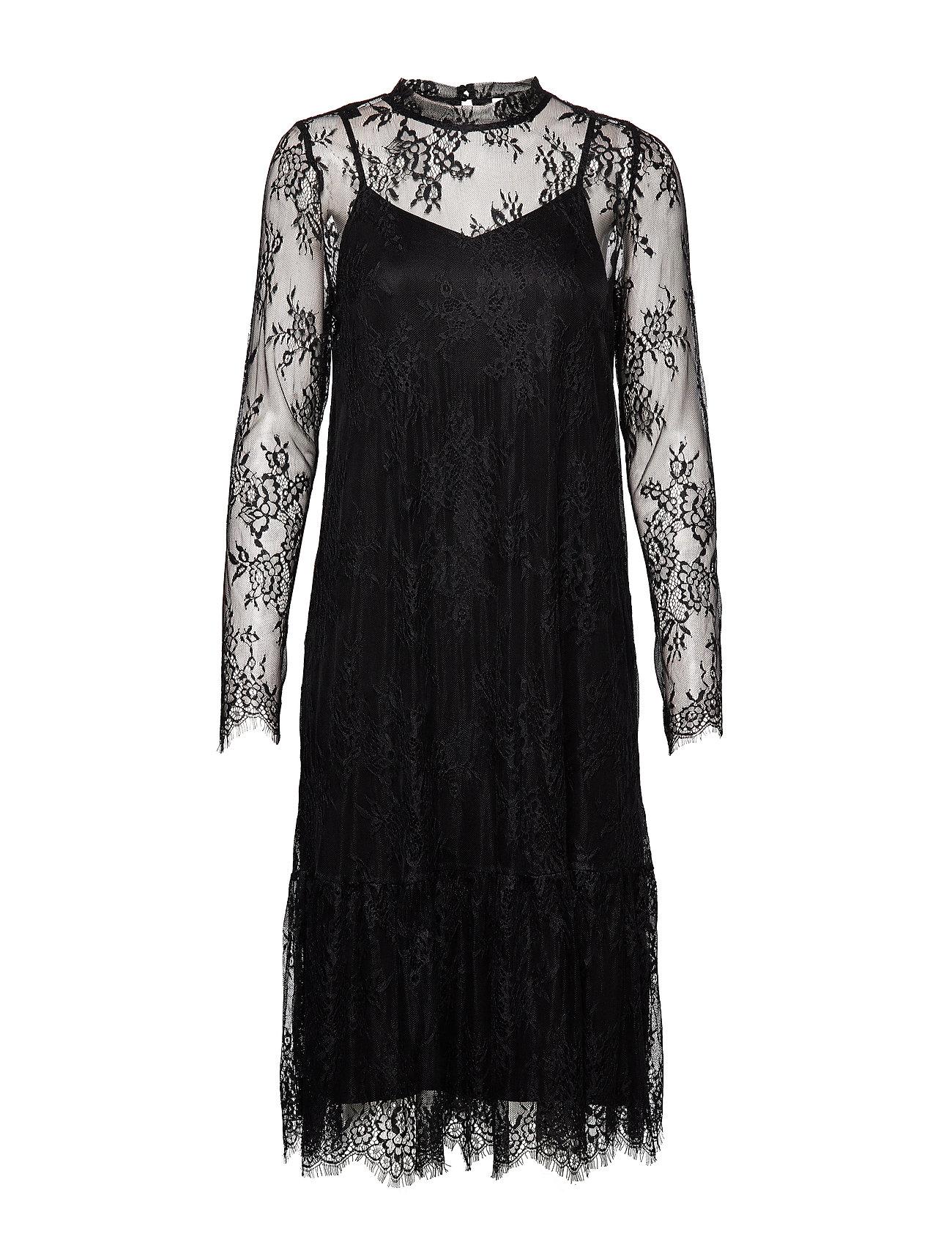 Pulz Jeans PZLAURINE Dress - BLACK
