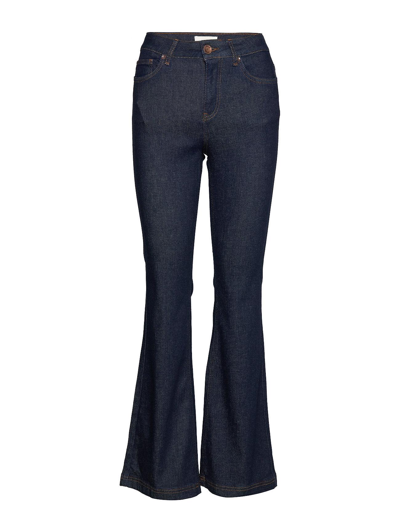Pulz Jeans PZLIVA Jeans - DARK BLUE DENIM