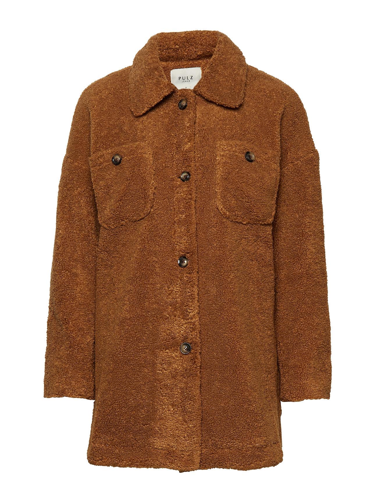 Pulz Jeans PZTEDDY Jacket - PECAN BROWN