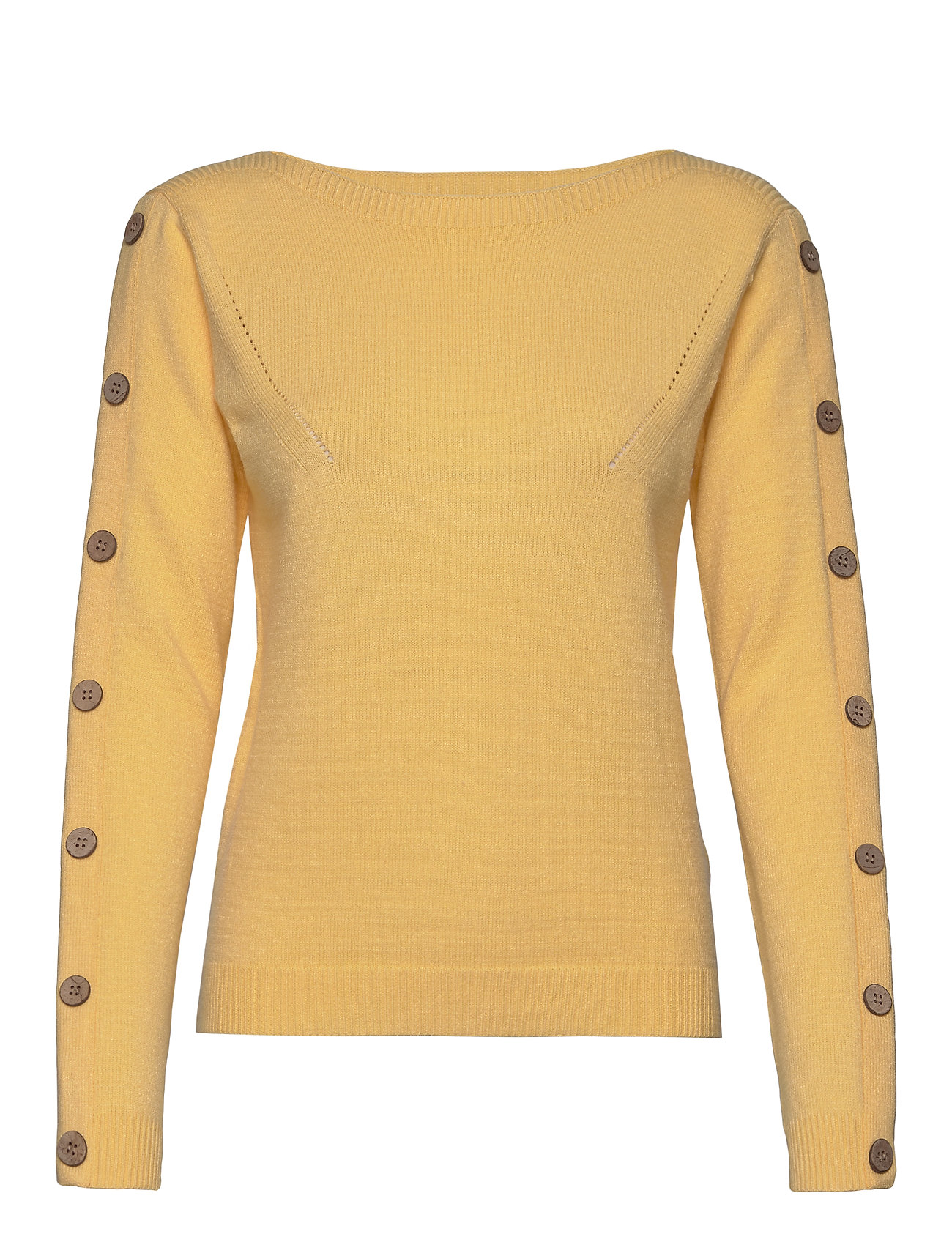 Pulz Jeans PZLIZA Pullover - MELLOW YELLOW