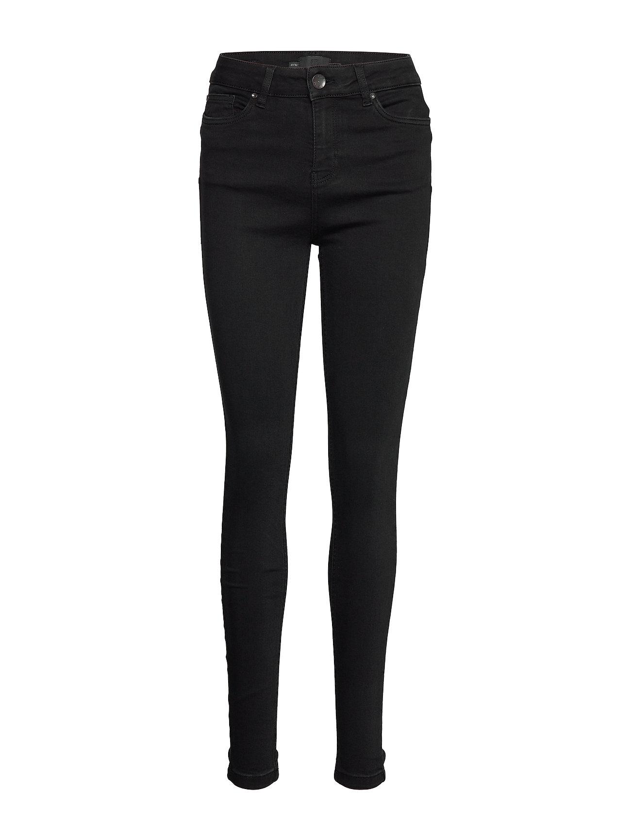 Pulz Jeans PZLIVA Jeans - BLACK DENIM