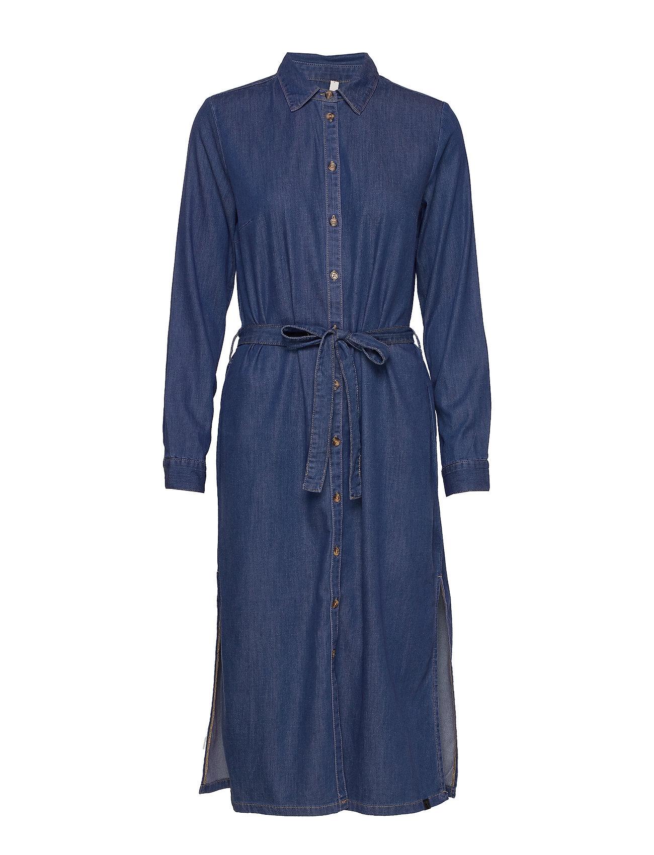 Pulz Jeans PZJOSIE Dress - MEDIUM BLUE DENIM