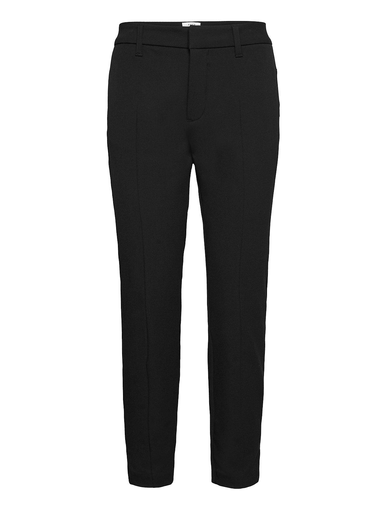 Pulz Jeans PZCLARA Pant Above - BLACK BEAUTY