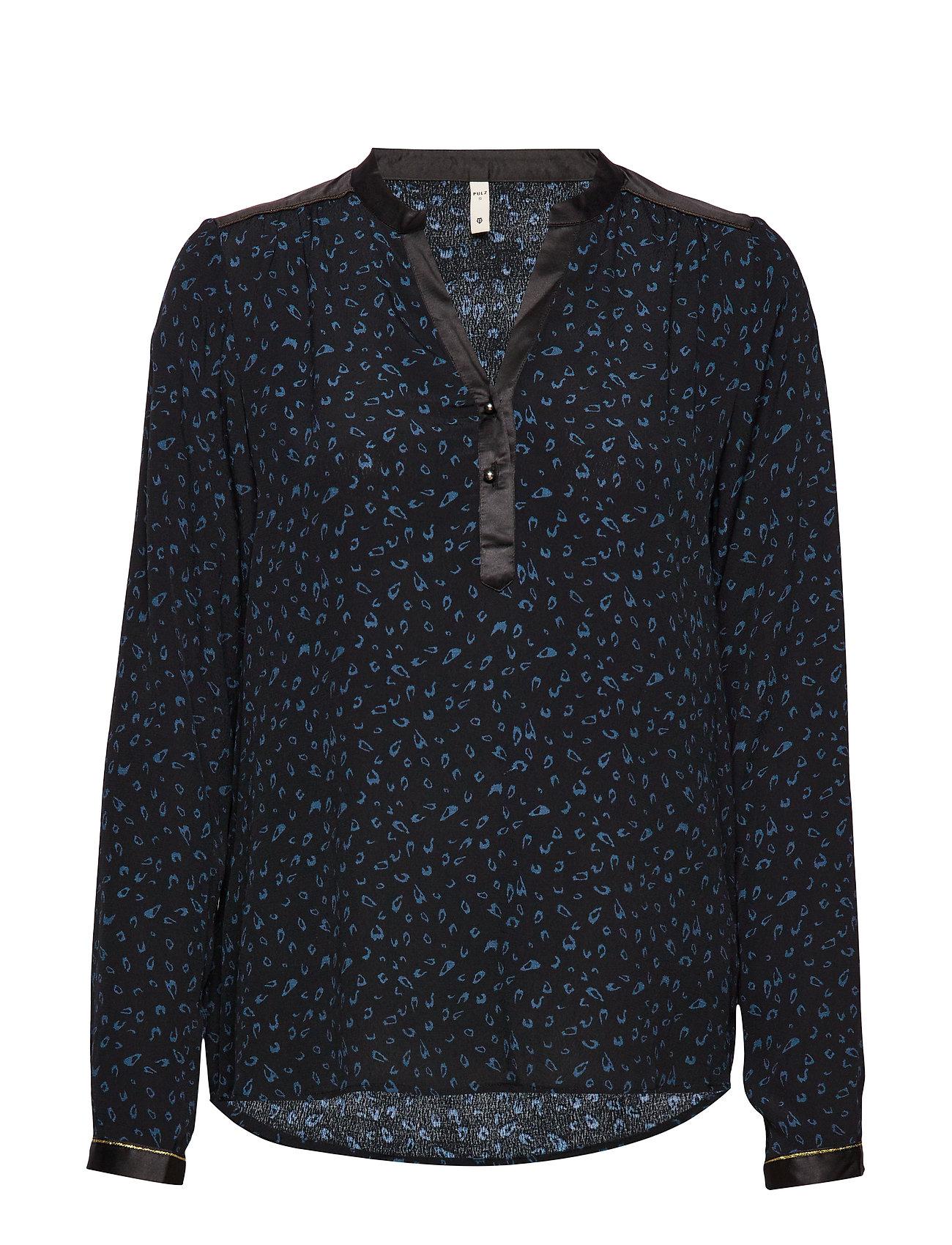 Pulz Jeans PZFLEUR Blouse - MIDNIGHT NAVY
