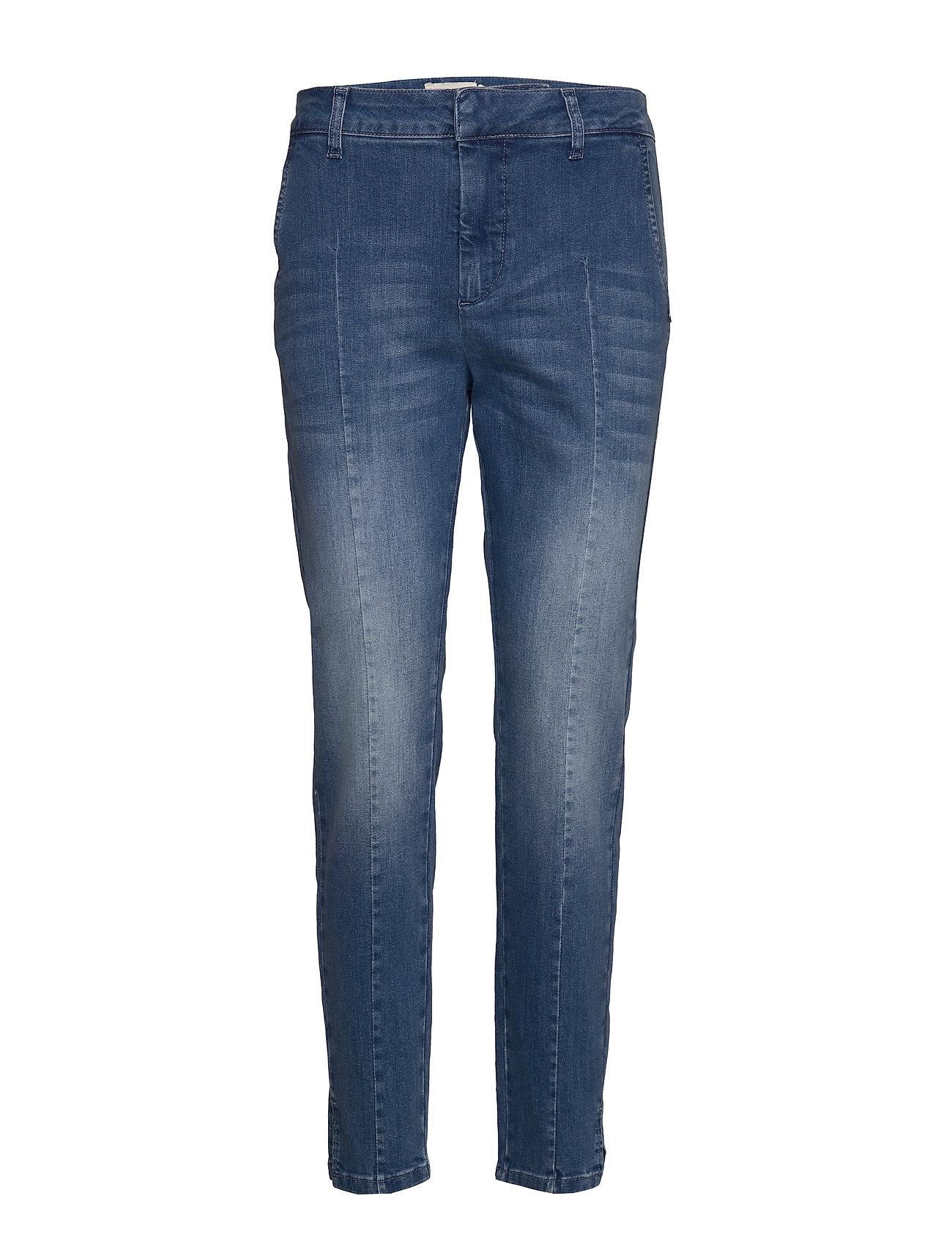 Pulz Jeans PZCLARA Jeans - MEDIUM BLUE DENIM