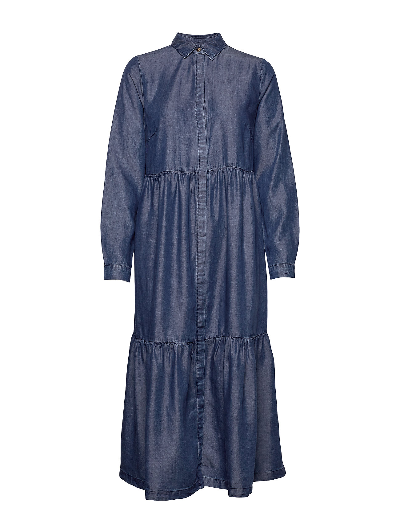 Pulz Jeans PZSNAKE Dress - MEDIUM BLUE DENIM